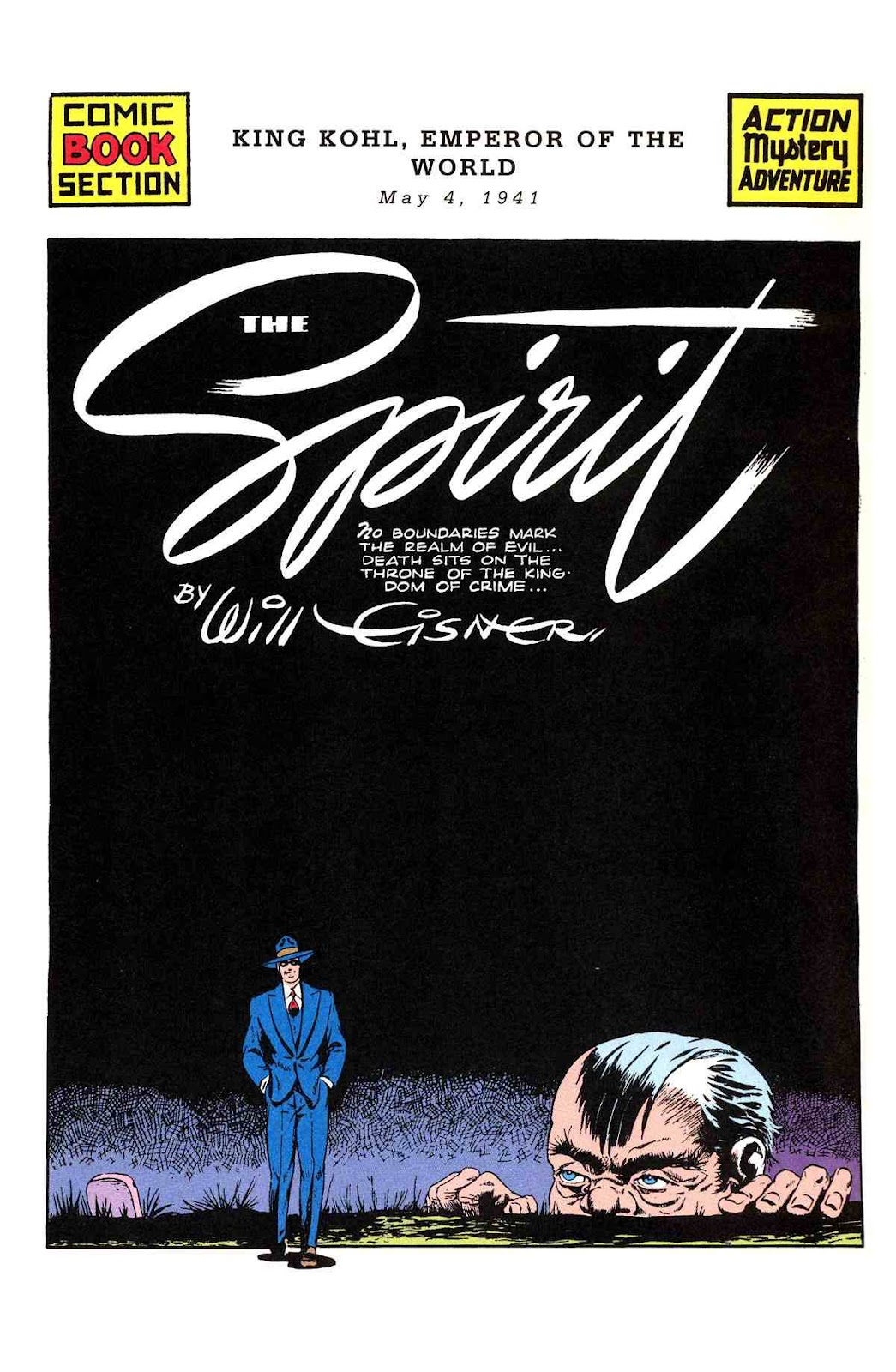 Read online Will Eisner's The Spirit Archives comic -  Issue # TPB 2 (Part 2) - 37
