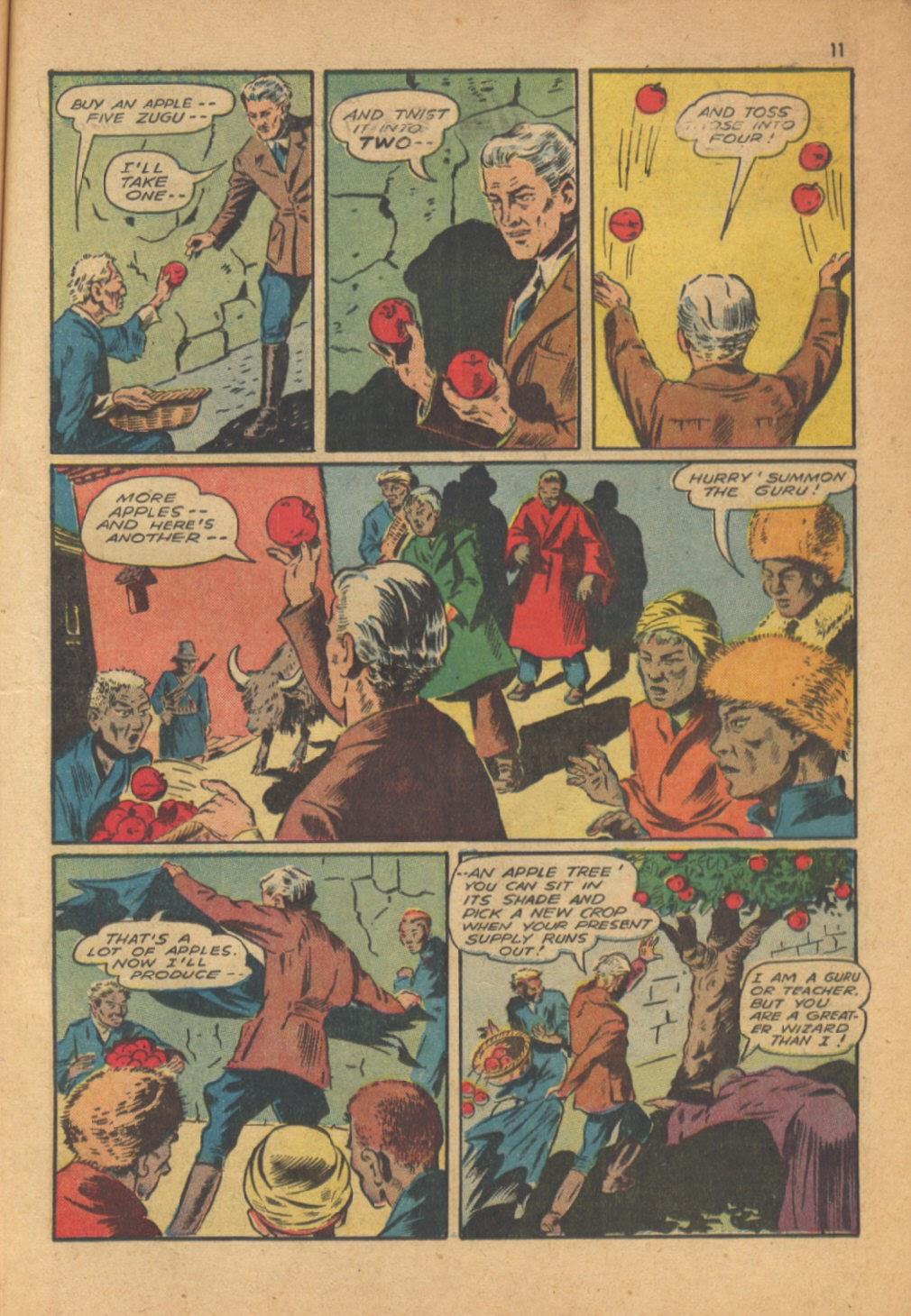 Read online Super-Magician Comics comic -  Issue #13 - 11