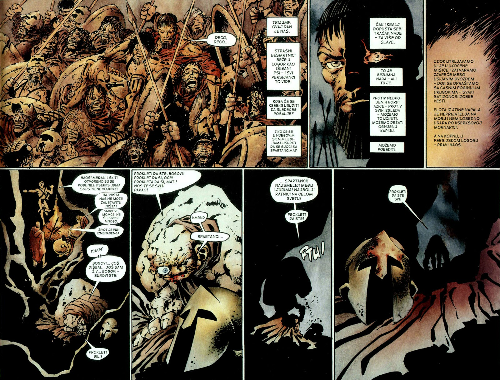 Read online 300 (2007) comic -  Issue # TPB - 62