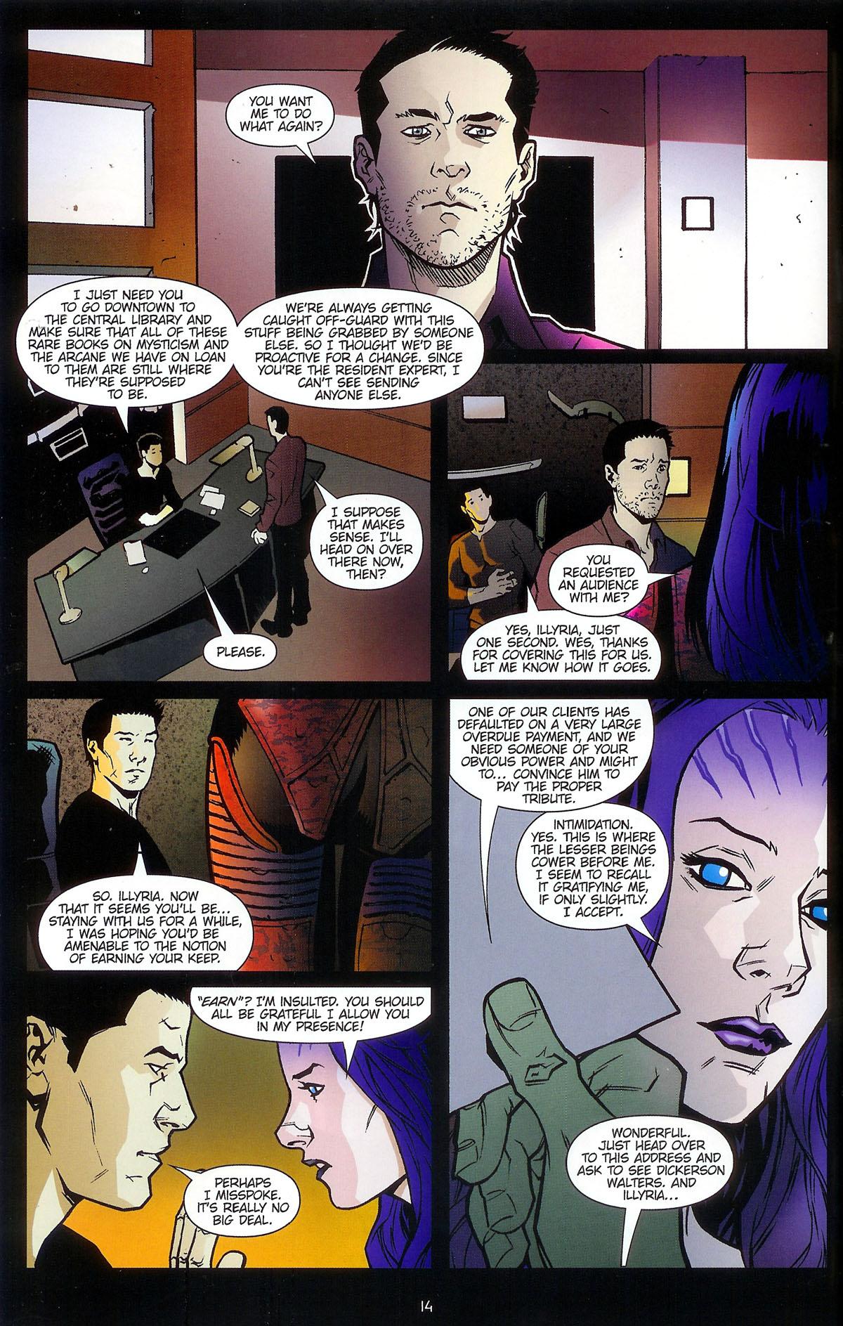 Read online Angel: Masks comic -  Issue # Full - 16