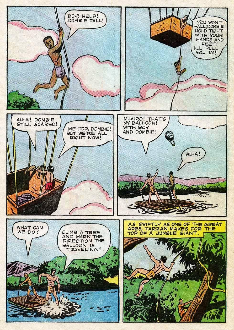 Tarzan (1948) issue 7 - Page 9