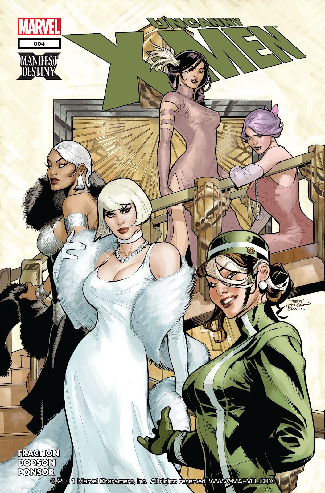 Uncanny X-Men (1963) 504 Page 1