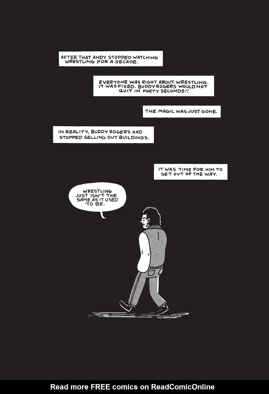 Read online Is This Guy For Real?: The Unbelievable Andy Kaufman comic -  Issue # TPB (Part 1) - 47