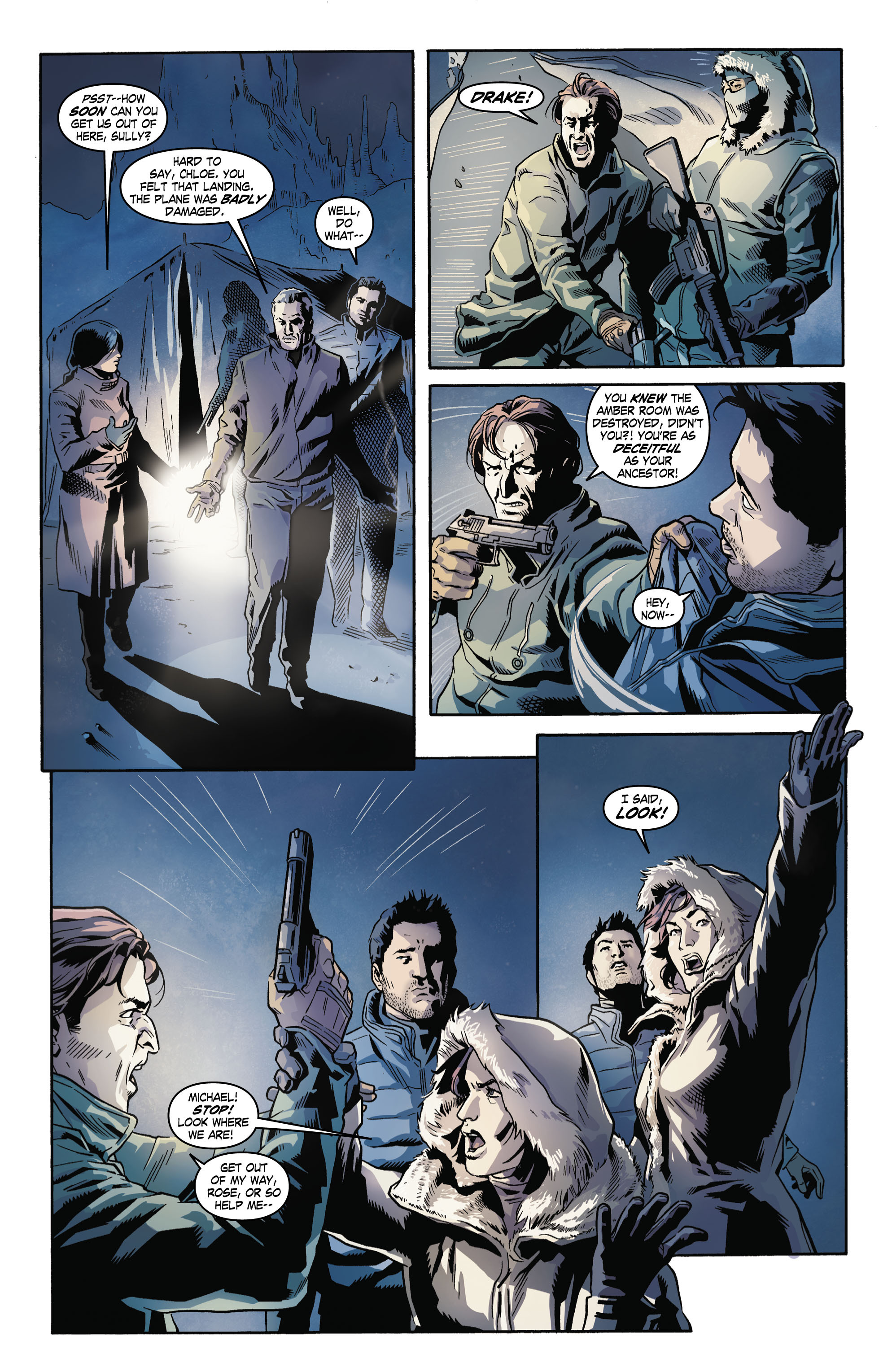 Read online Uncharted comic -  Issue #4 - 5