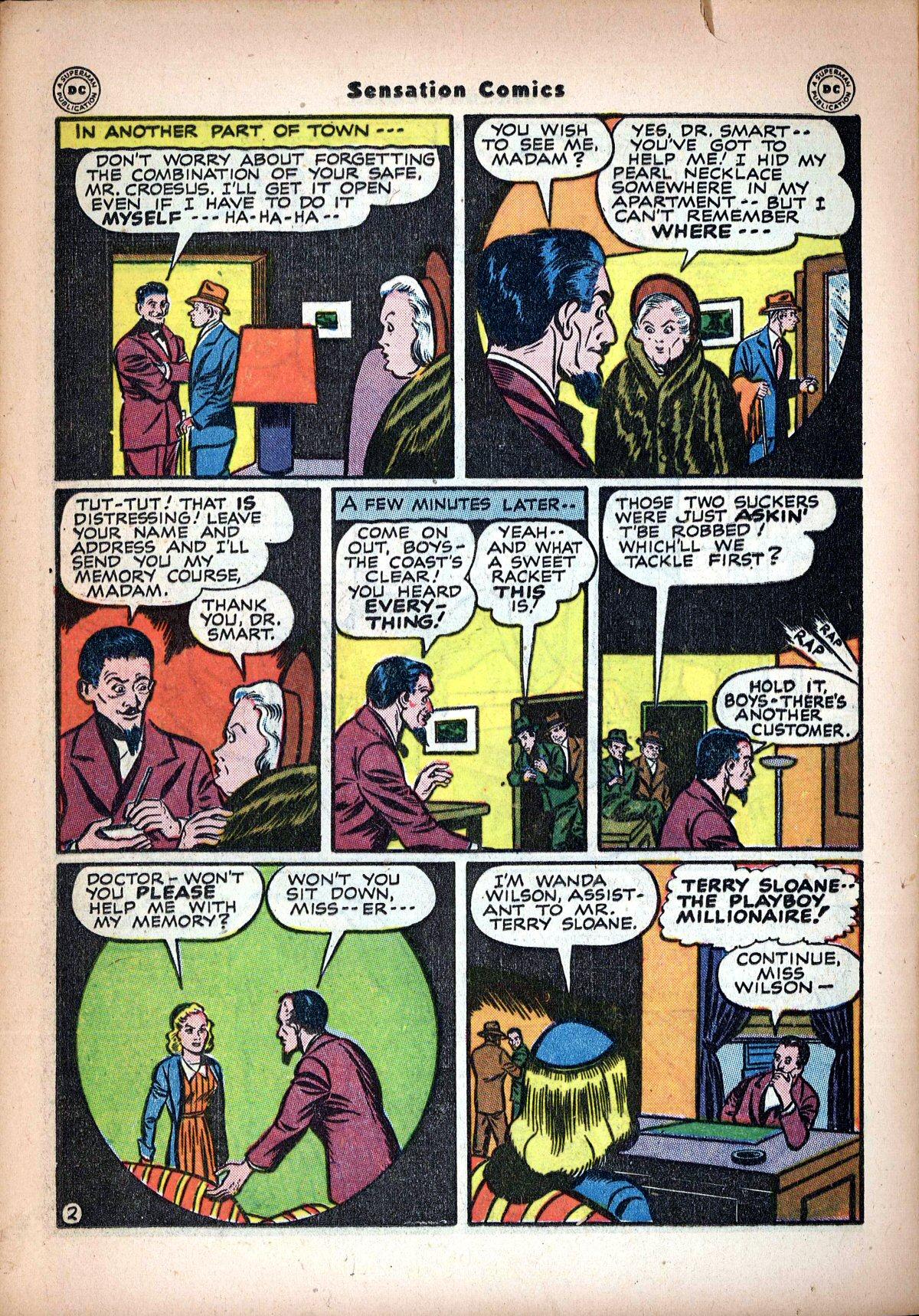 Read online Sensation (Mystery) Comics comic -  Issue #62 - 36