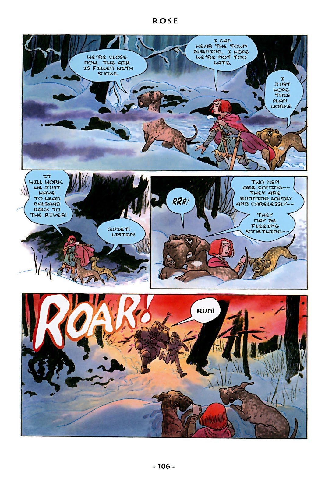 Read online Rose (2000) comic -  Issue # TPB - 111