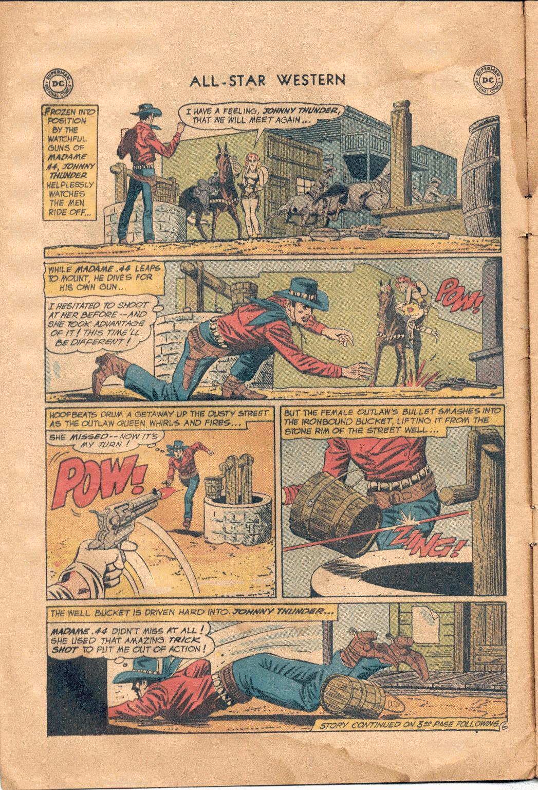 Read online All-Star Western (1951) comic -  Issue #117 - 7