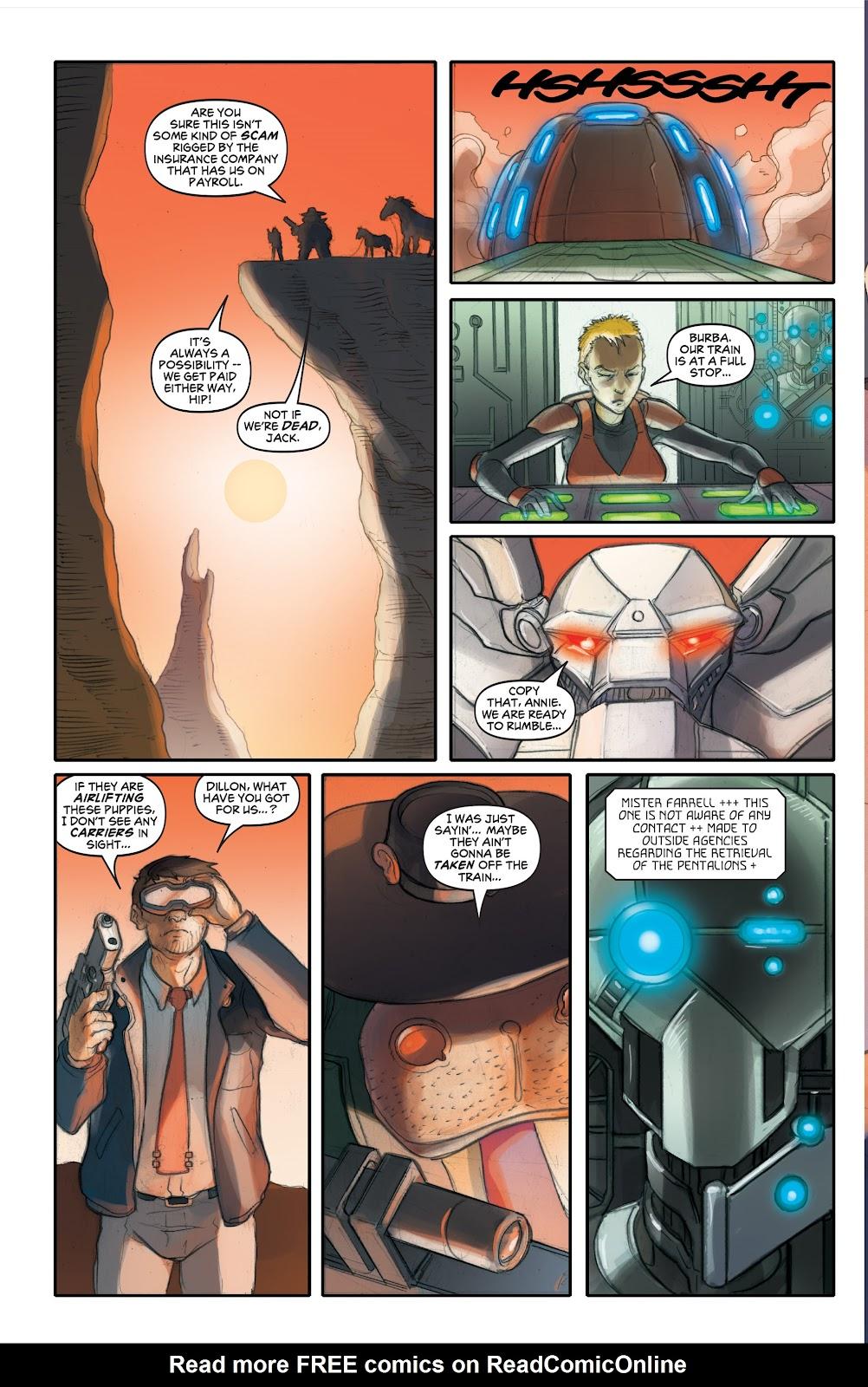 Read online Elephantmen 2261 Season Two: The Pentalion Job comic -  Issue # TPB - 49