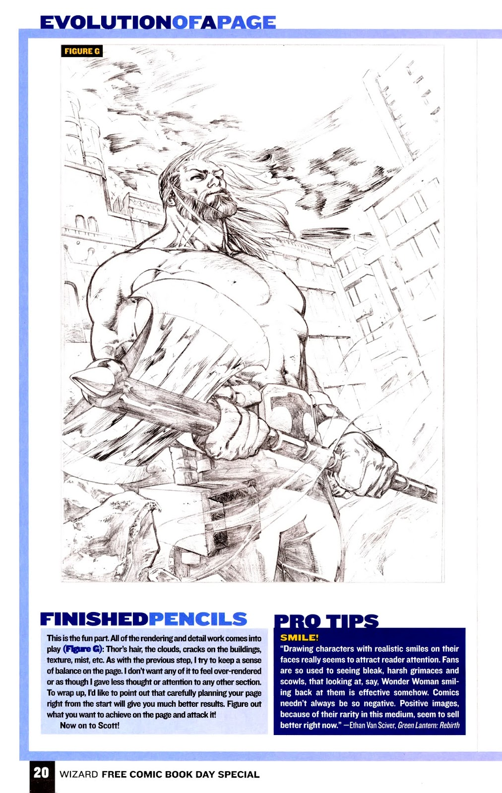 Read online Wizard How to Draw Sampler comic -  Issue # Full - 21