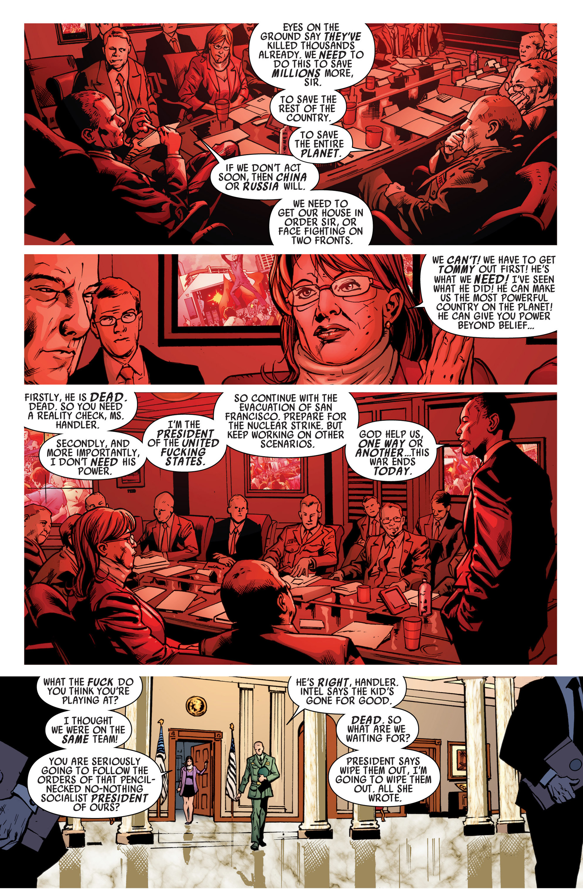 Read online America's Got Powers comic -  Issue #6 - 8