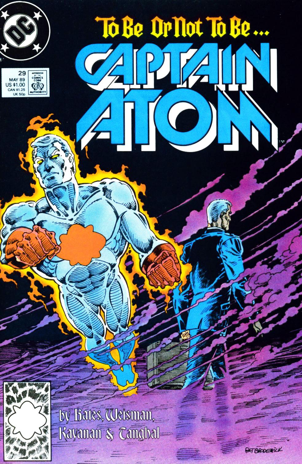 Captain Atom (1987) 29 Page 1