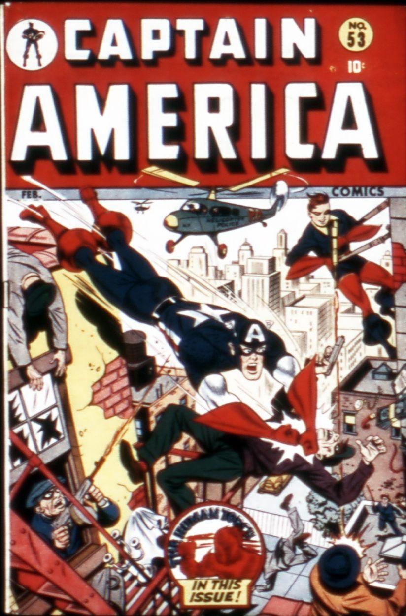 Captain America Comics 53 Page 1