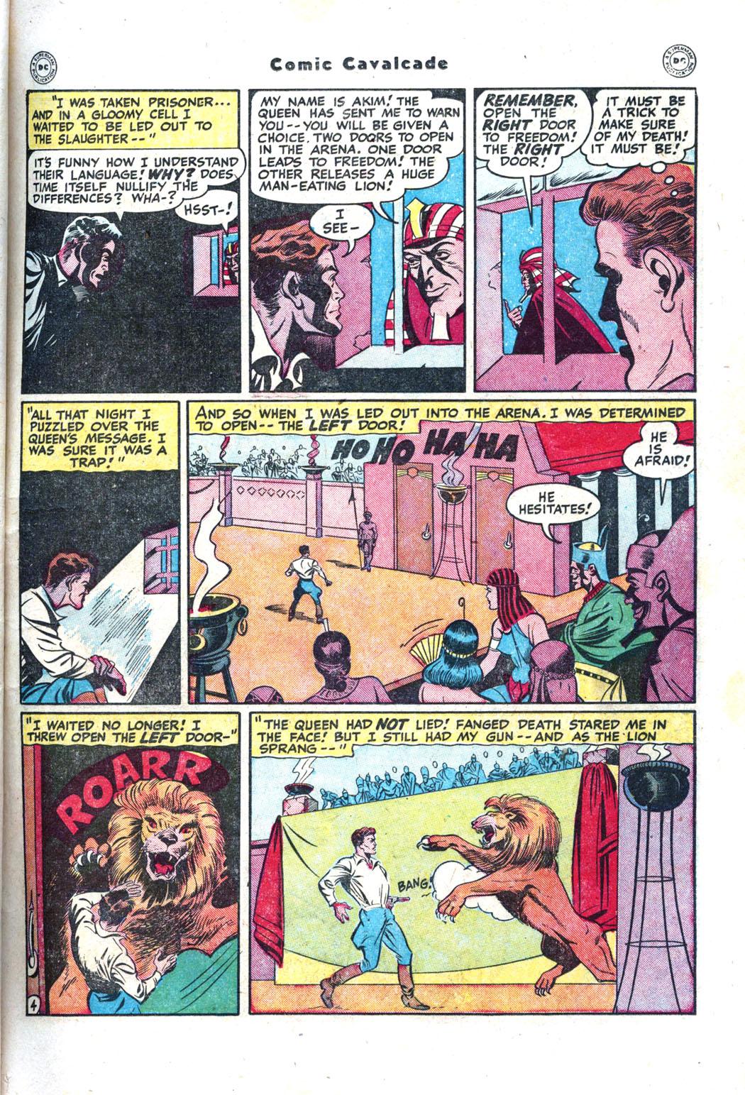 Comic Cavalcade issue 26 - Page 21