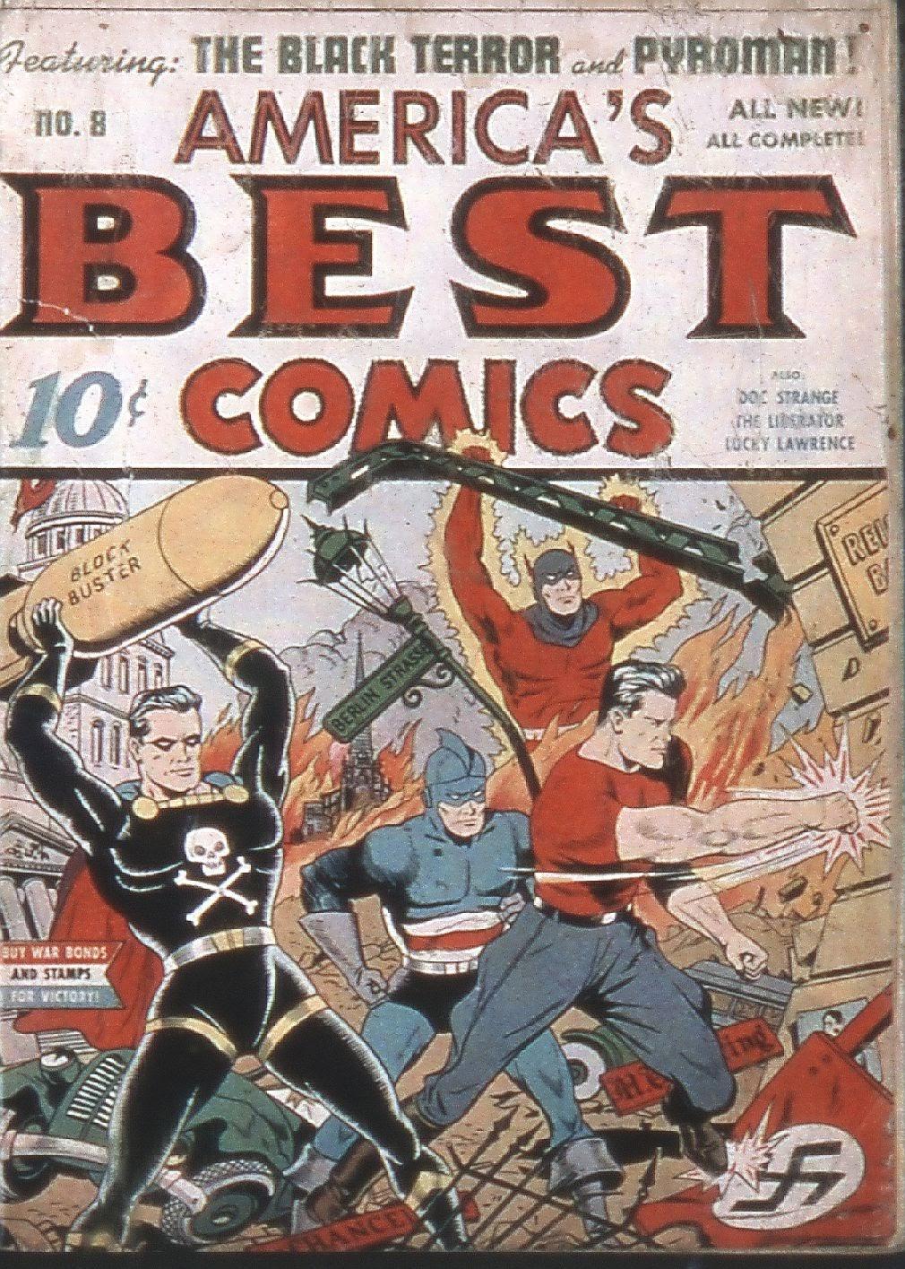 Americas Best Comics 8 Page 1