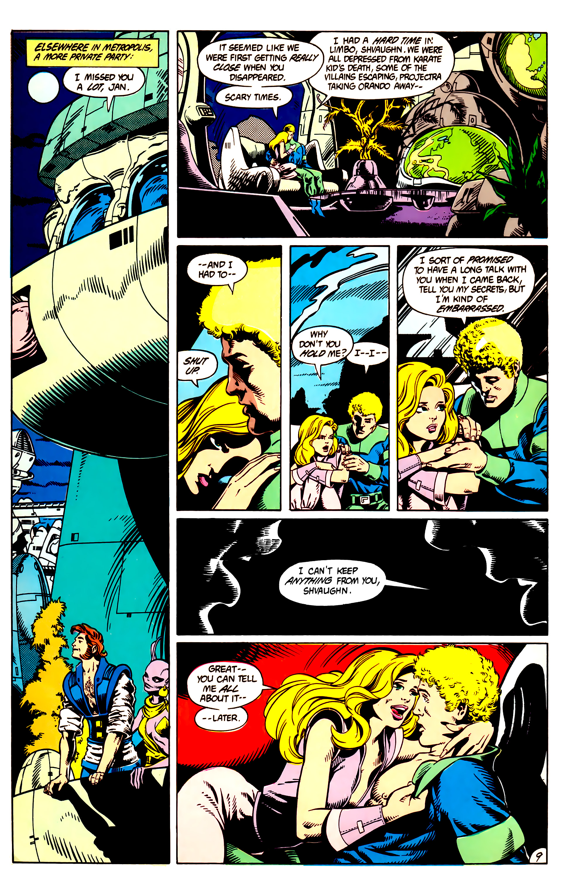Legion of Super-Heroes (1984) 9 Page 10