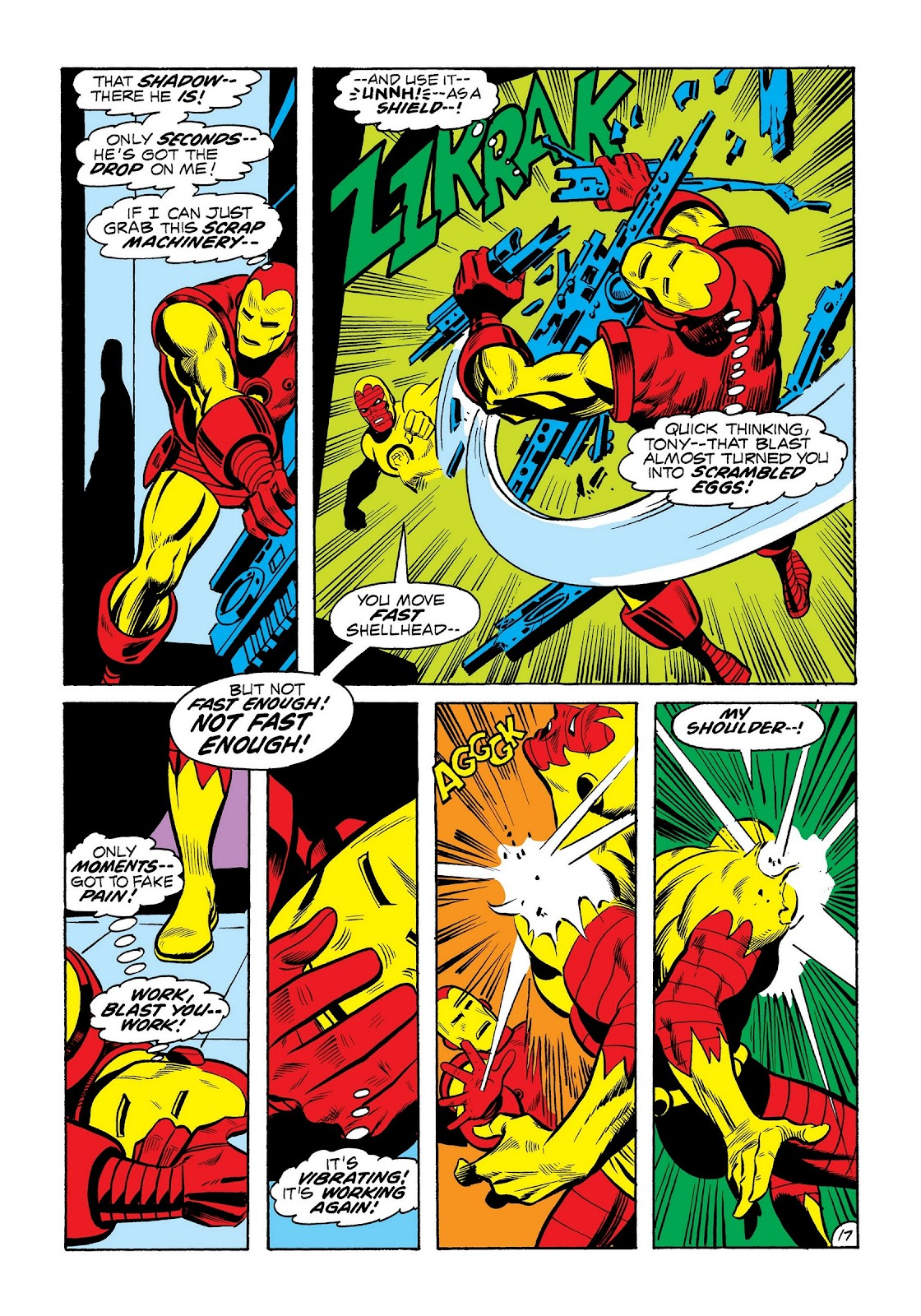 Read online Marvel Masterworks: The Invincible Iron Man comic -  Issue # TPB 8 (Part 3) - 5