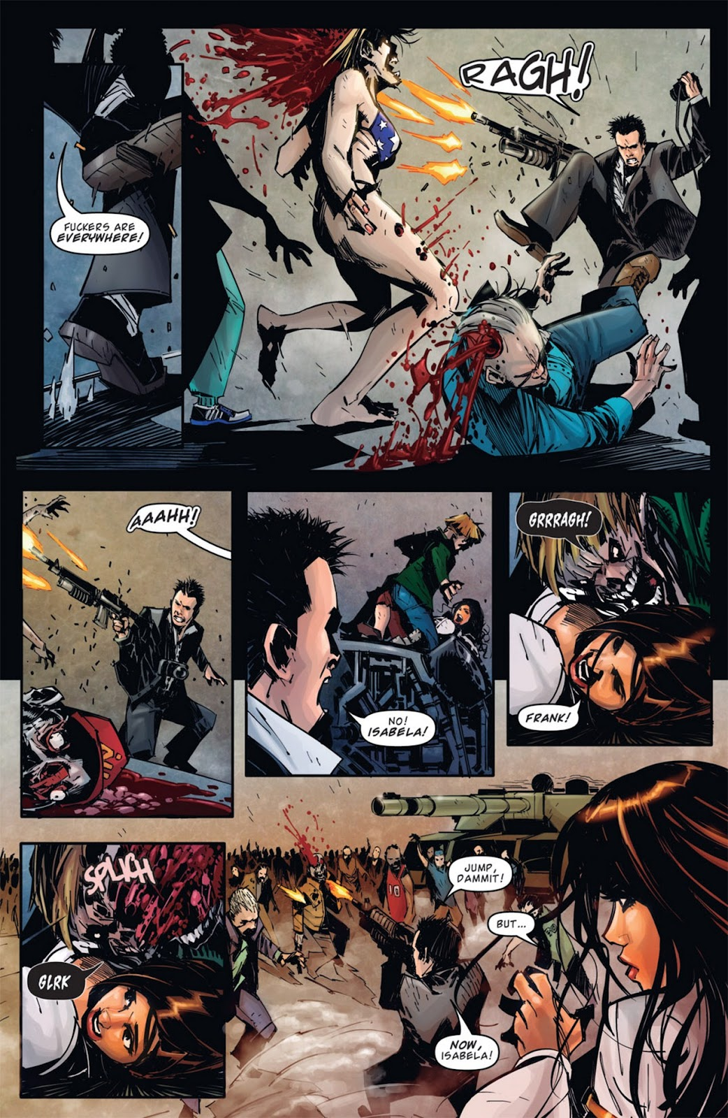 Read online Dead Rising: Road to Fortune comic -  Issue #1 - 10