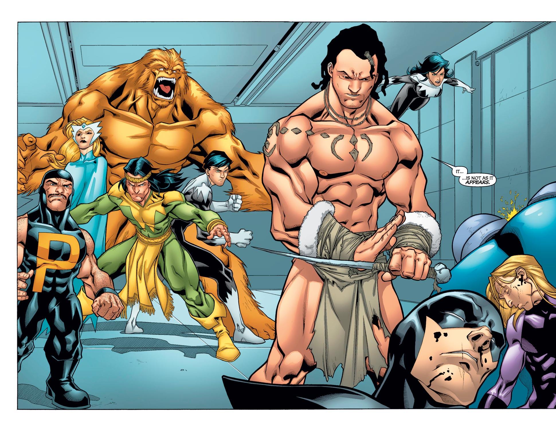 Read online Alpha Flight (2004) comic -  Issue #11 - 13