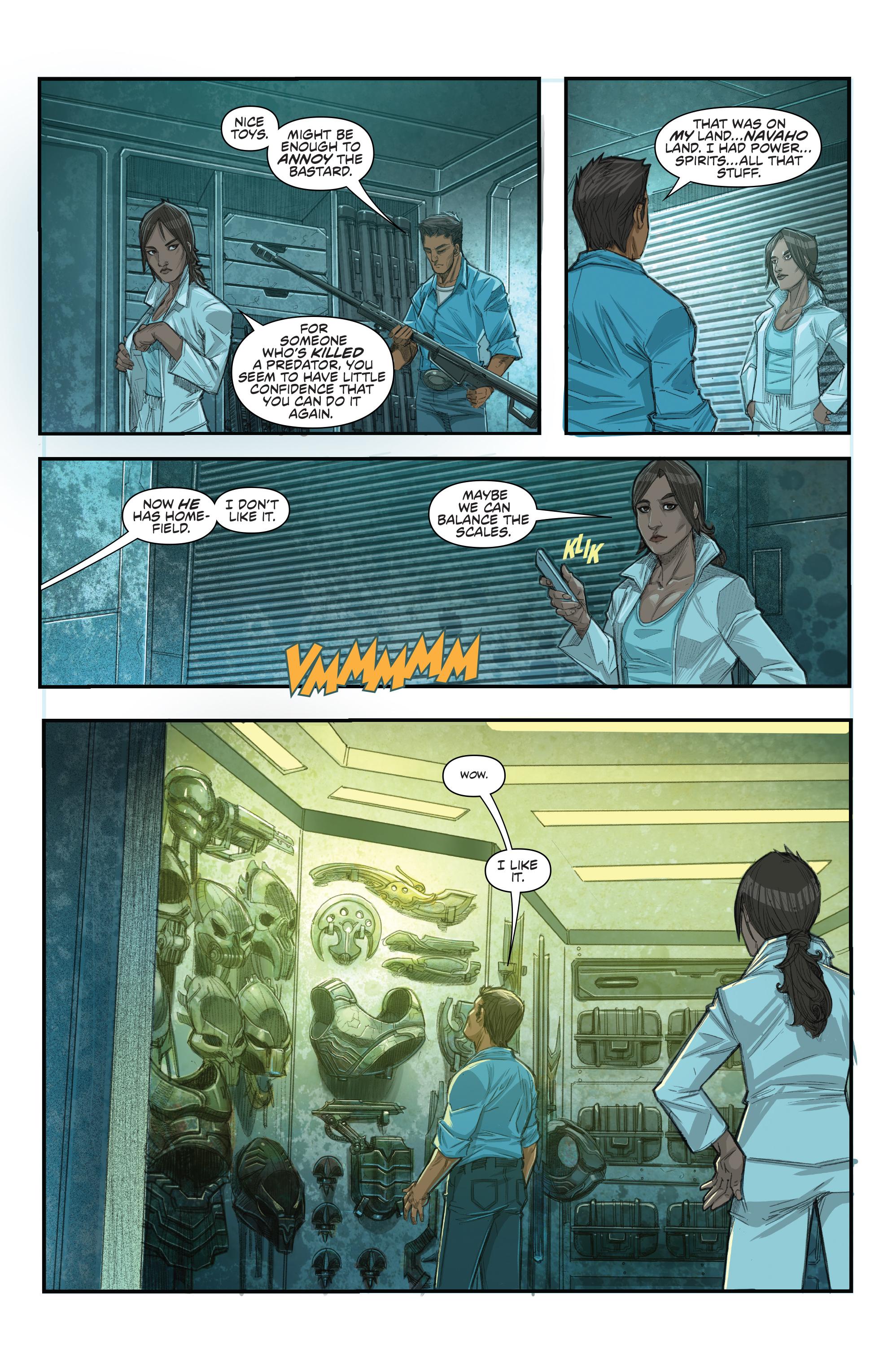 Read online Predator: Hunters comic -  Issue #2 - 16