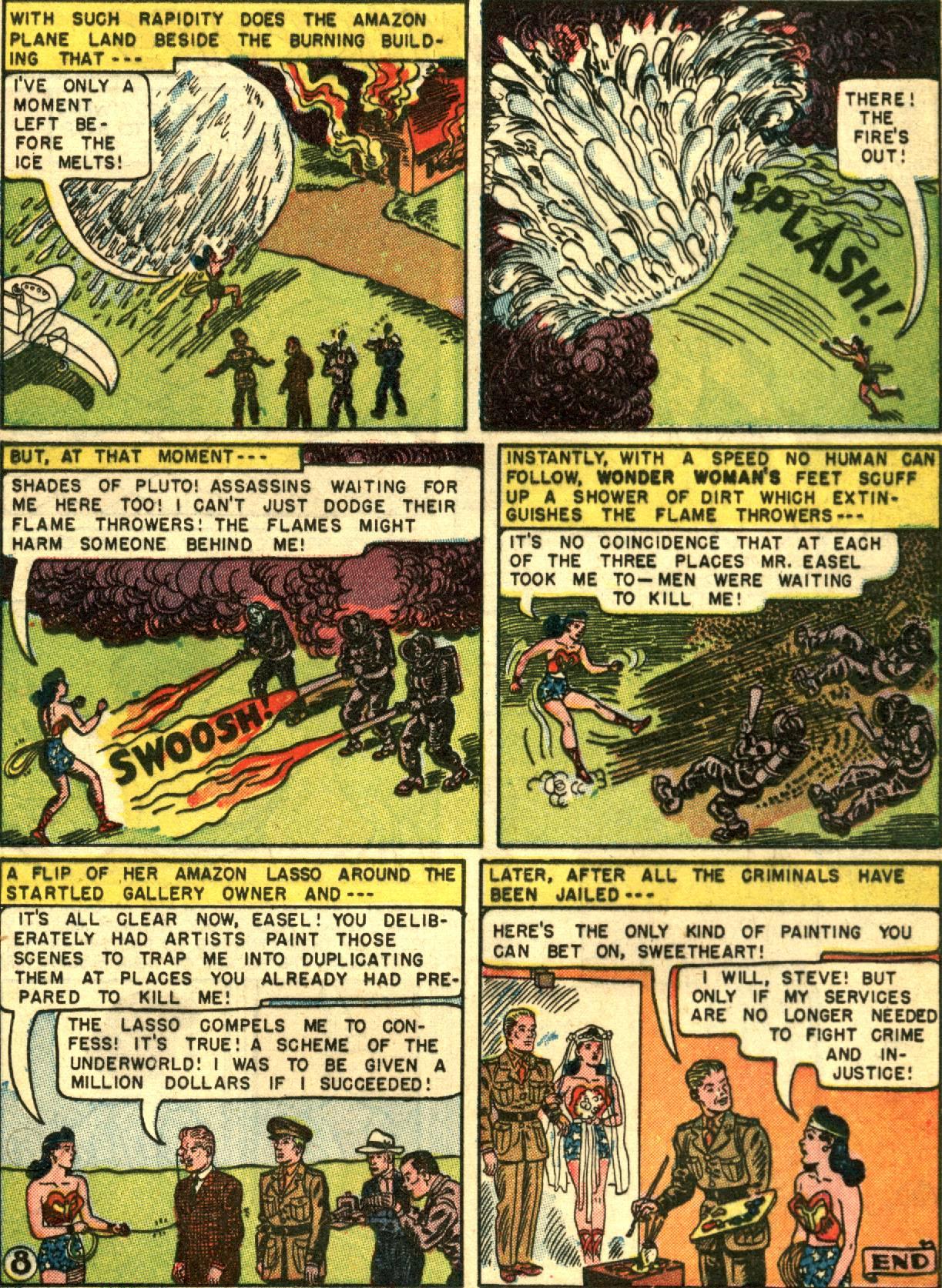 Read online Wonder Woman (1942) comic -  Issue #67 - 20