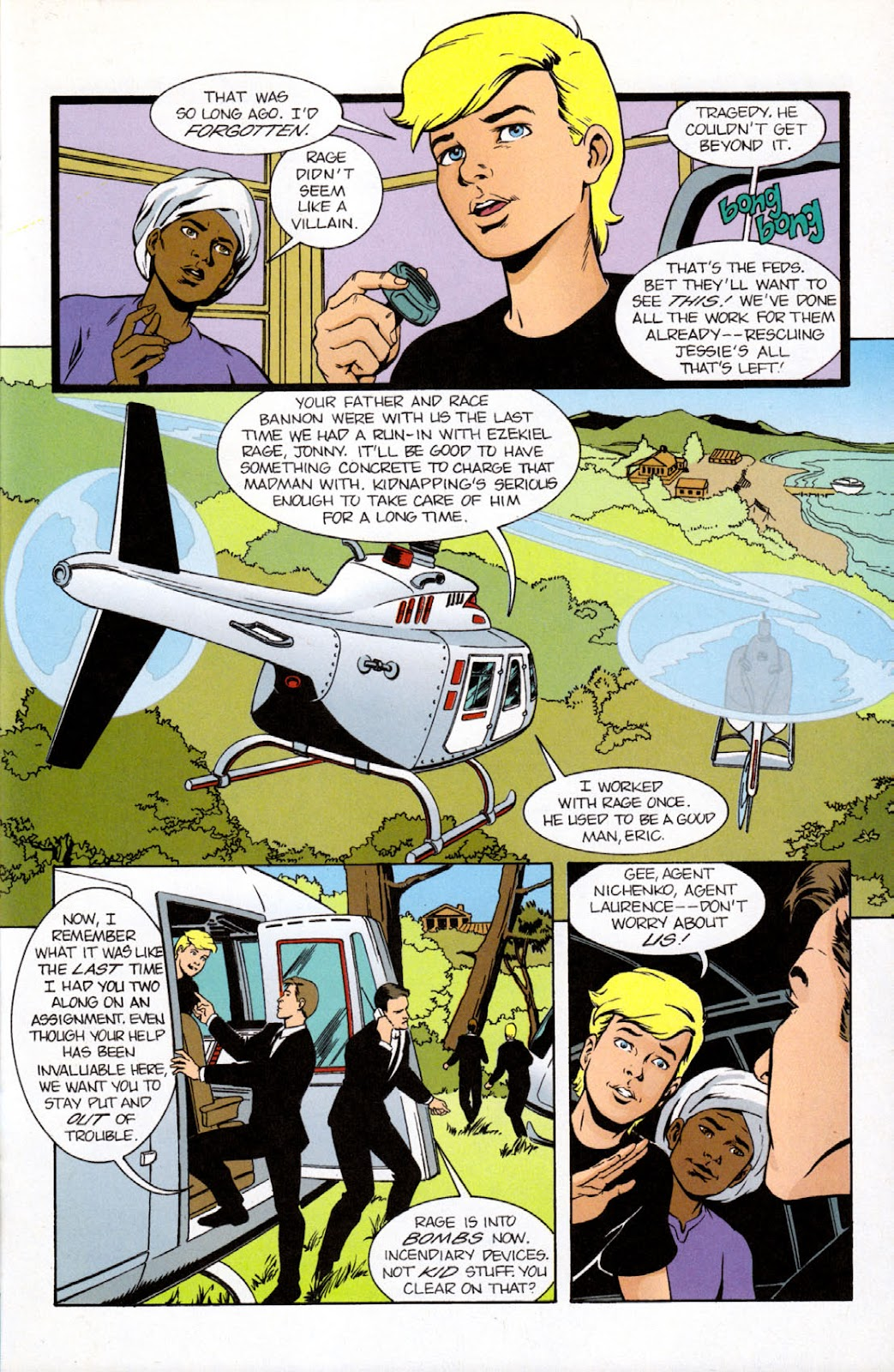 Read online The Real Adventures of Jonny Quest comic -  Issue #9 - 23