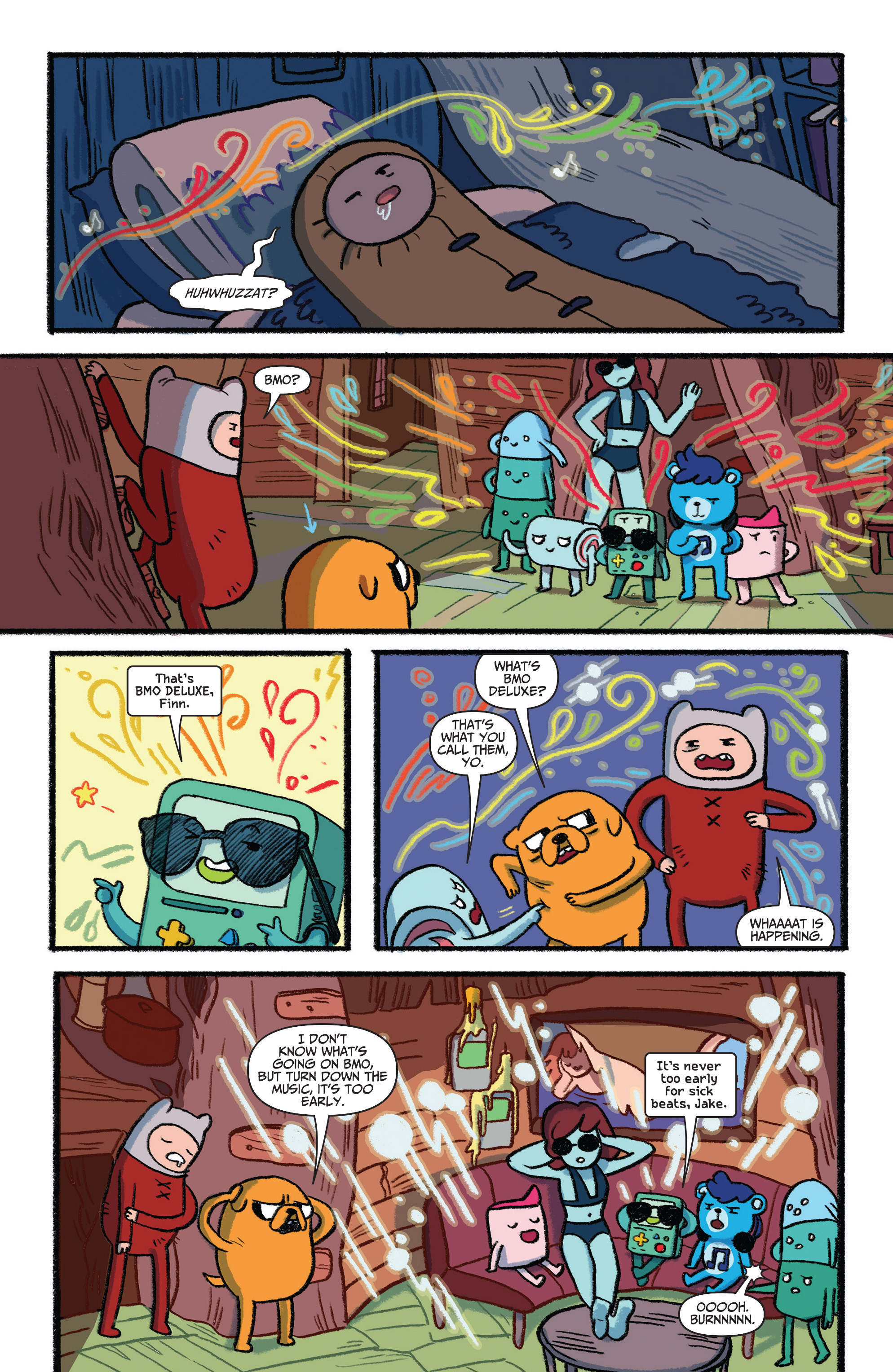 Read online Adventure Time Comics comic -  Issue #3 - 5