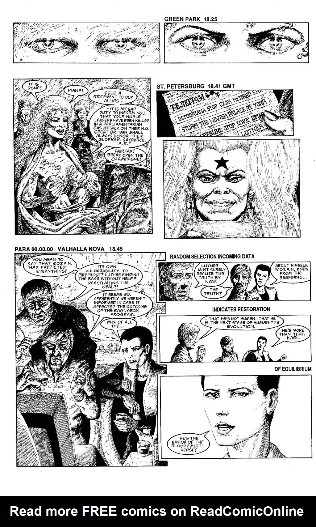 Read online The Adventures of Luther Arkwright comic -  Issue #9 - 18