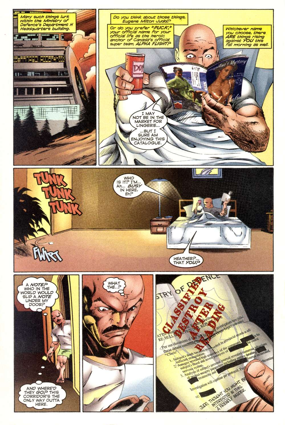 Read online Alpha Flight (1997) comic -  Issue #3 - 4