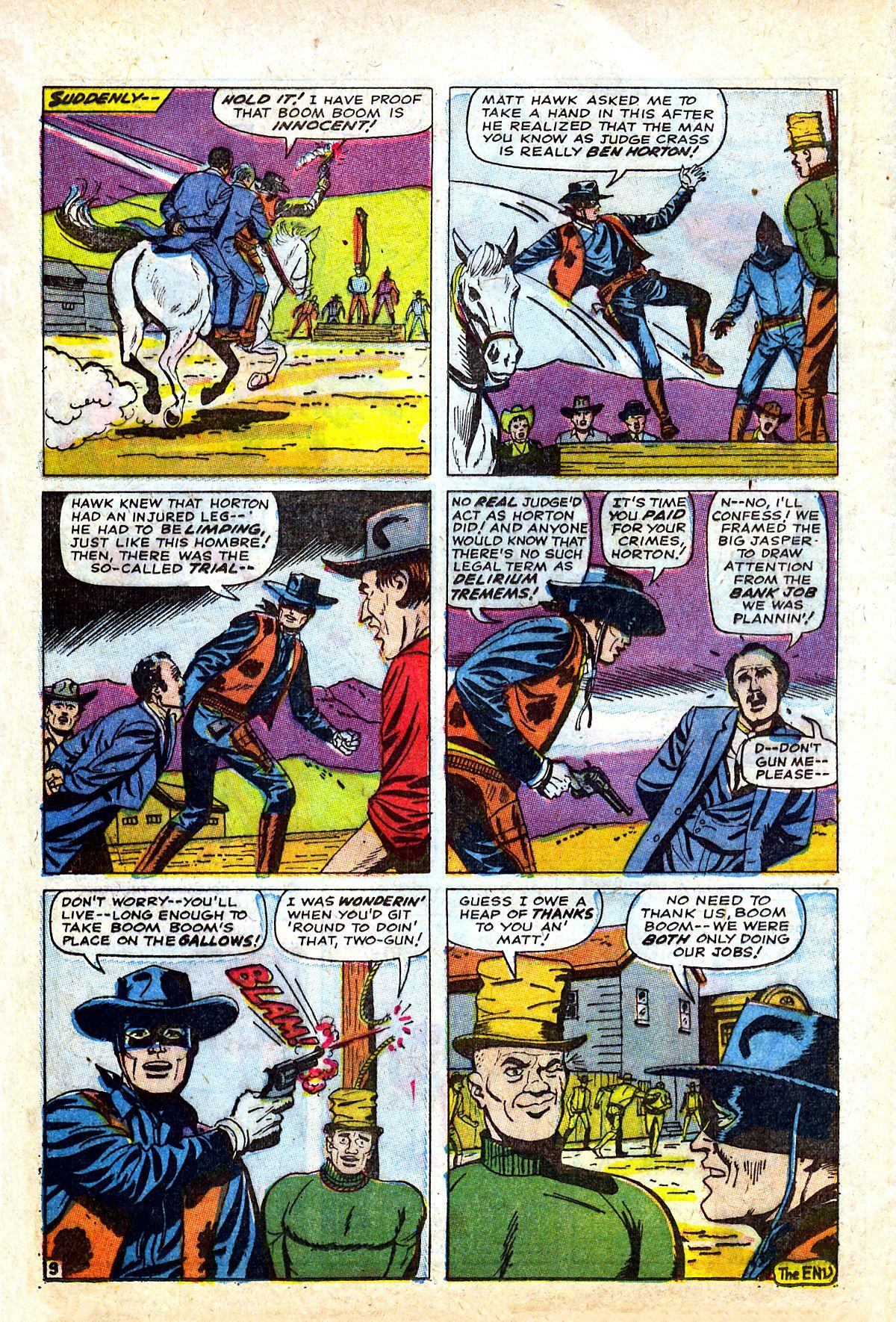 Read online Two-Gun Kid comic -  Issue #90 - 12