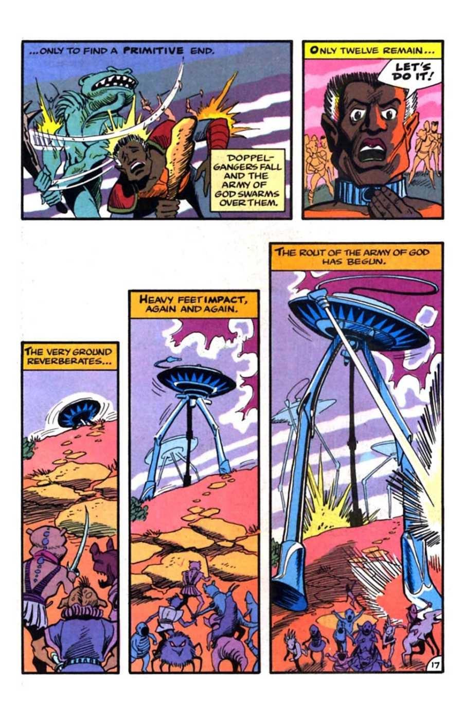 Read online Mars comic -  Issue #9 - 19