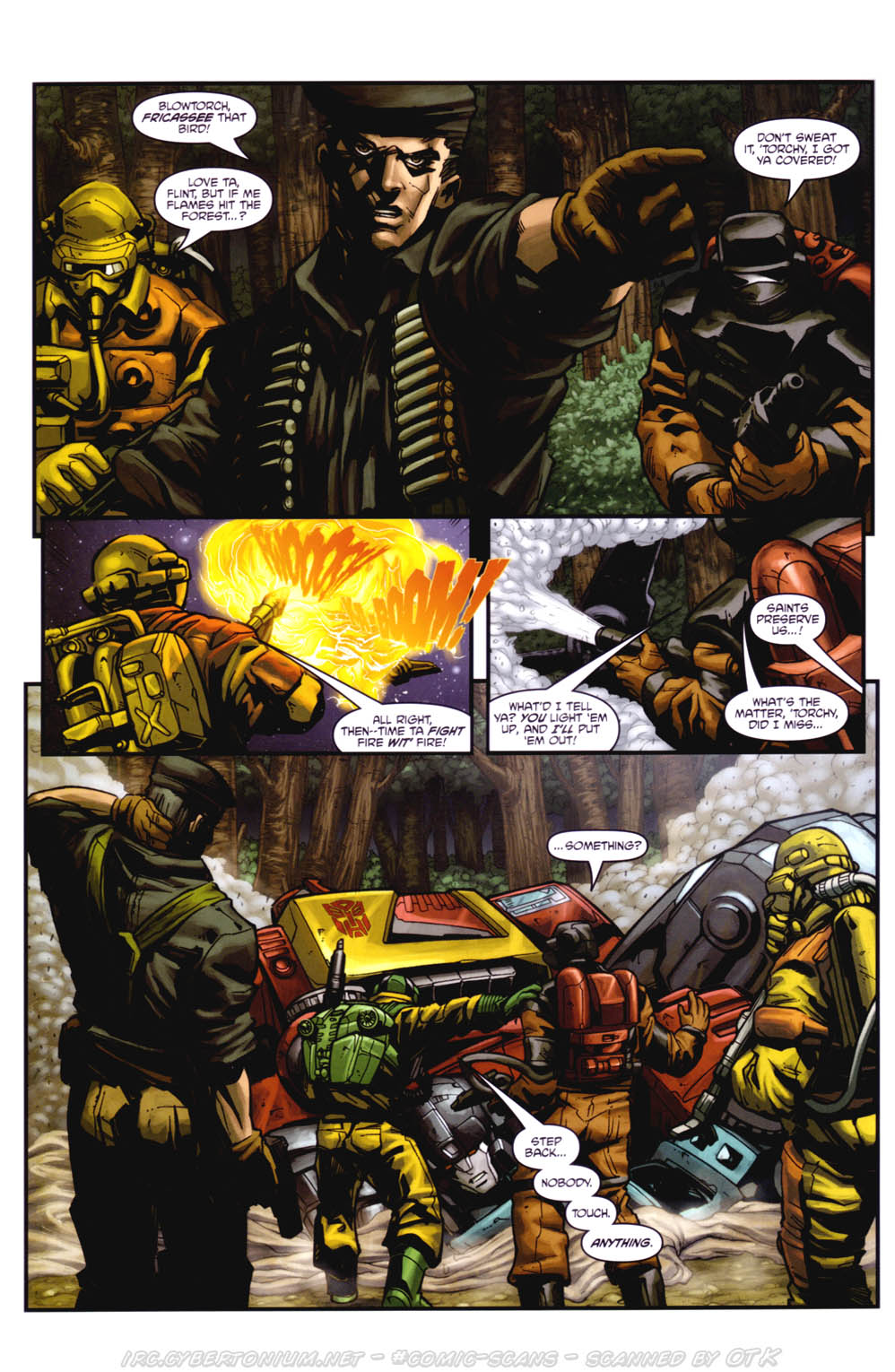 Read online Transformers/G.I. Joe: Divided Front comic -  Issue # Full - 24