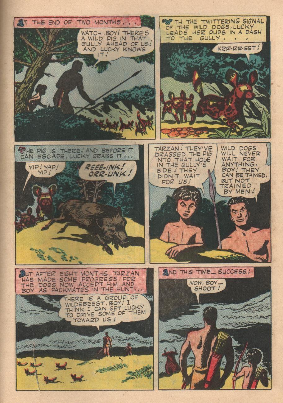Tarzan (1948) issue 84 - Page 23
