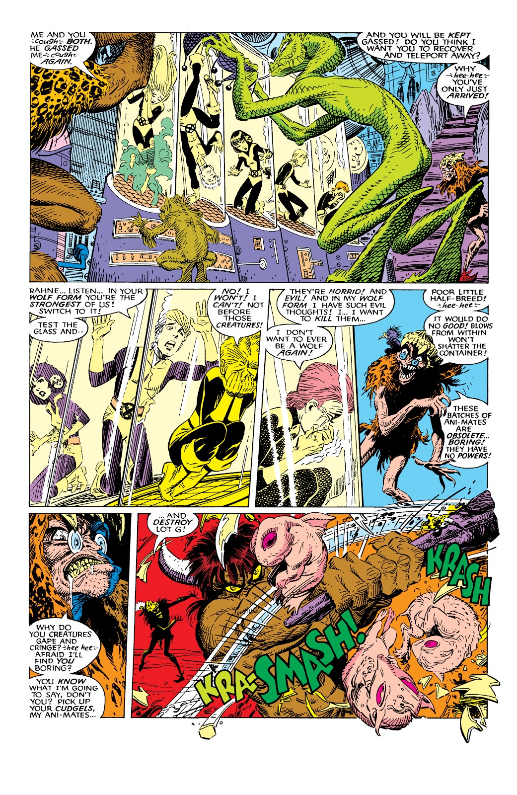 Read online X-Men Milestones: Fall of the Mutants comic -  Issue # TPB (Part 2) - 24