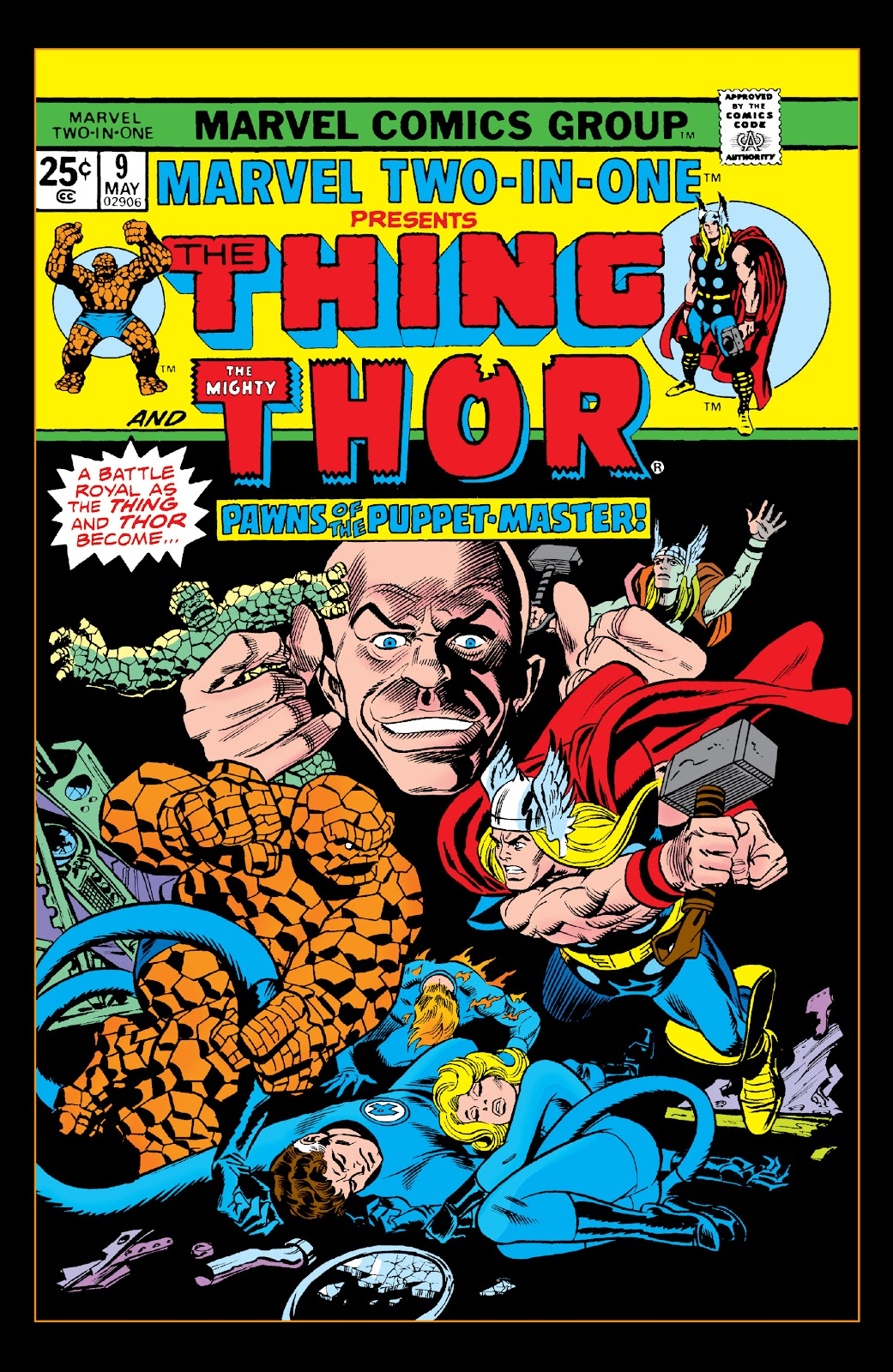 Read online Marvel Two-In-One Epic Collection: Cry Monster comic -  Issue # TPB (Part 2) - 99
