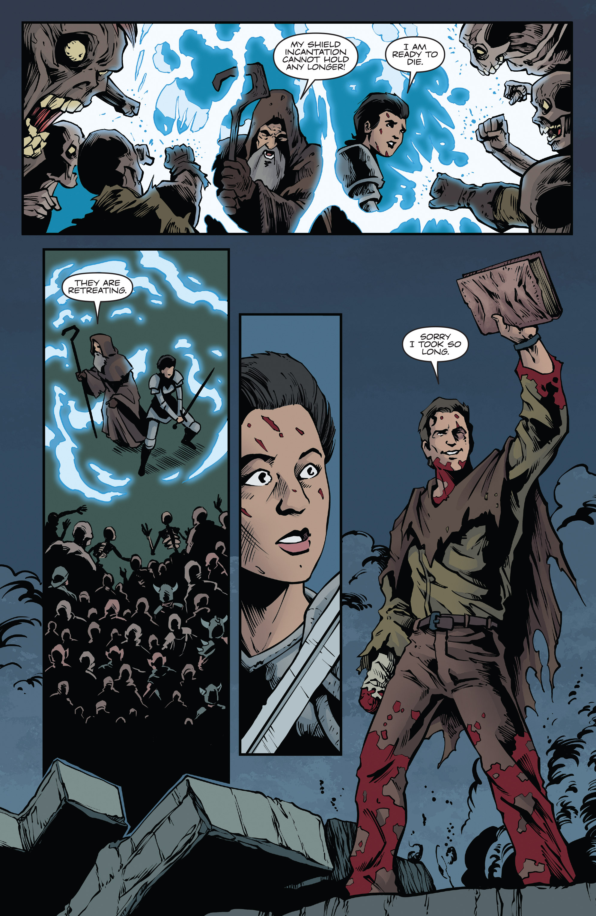 Read online Army of Darkness: Ash Gets Hitched comic -  Issue #4 - 17