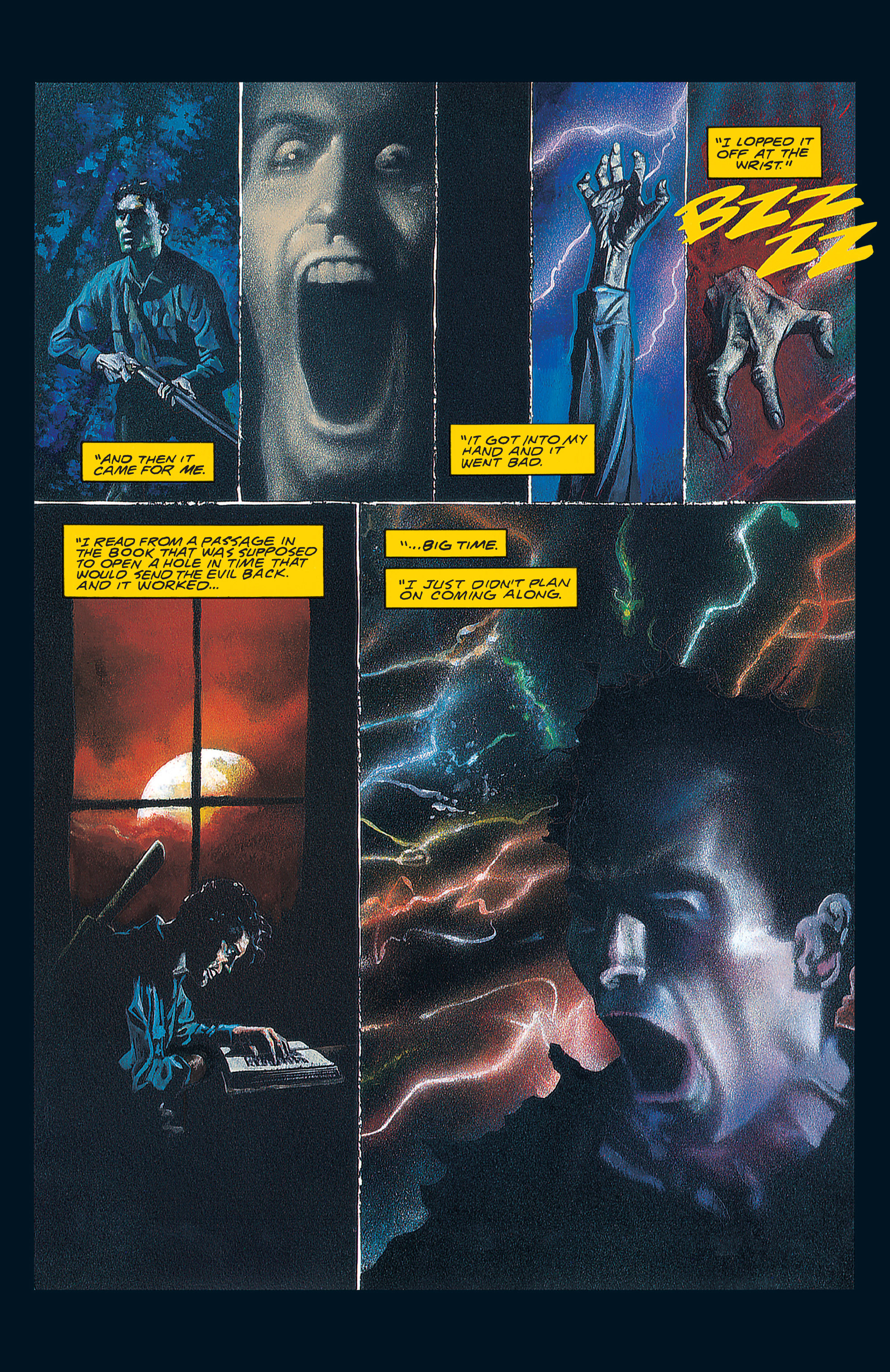 Read online Army of Darkness (1992) comic -  Issue #1 - 5