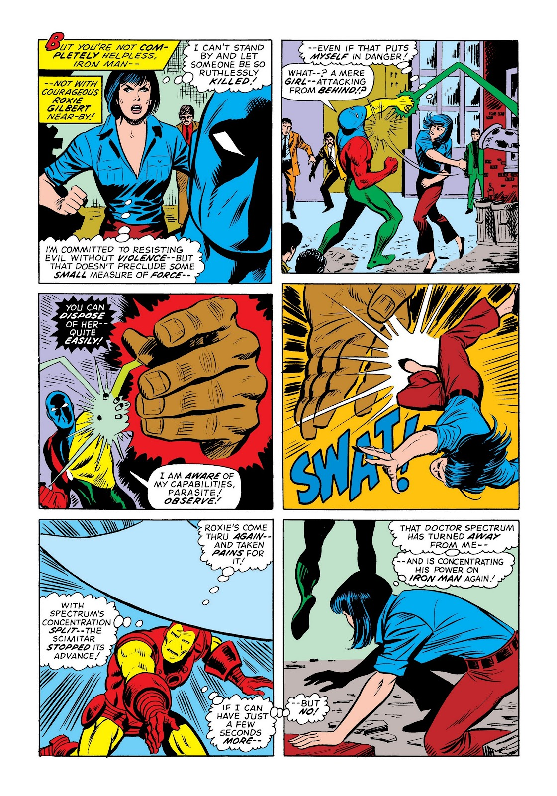 Read online Marvel Masterworks: The Invincible Iron Man comic -  Issue # TPB 9 (Part 3) - 37