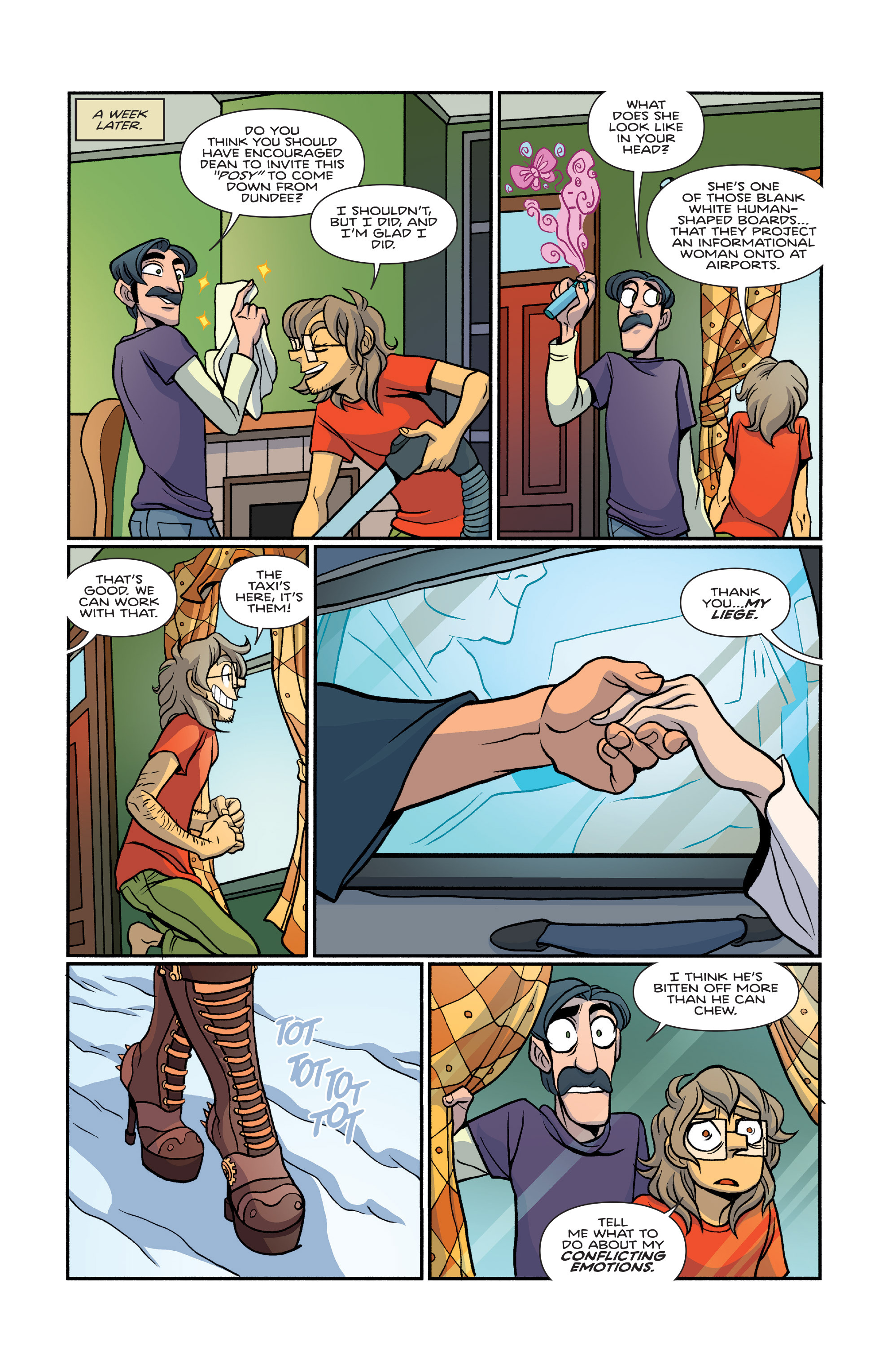 Read online Giant Days (2015) comic -  Issue #26 - 12