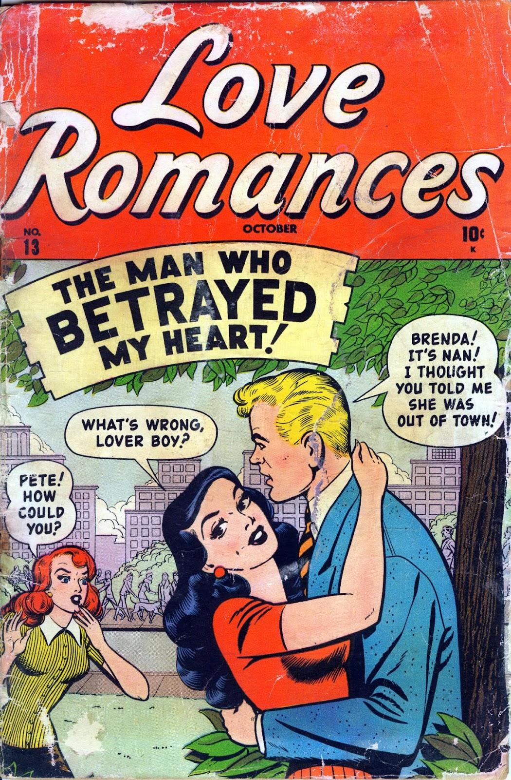 Love Romances (1949) issue 13 - Page 1