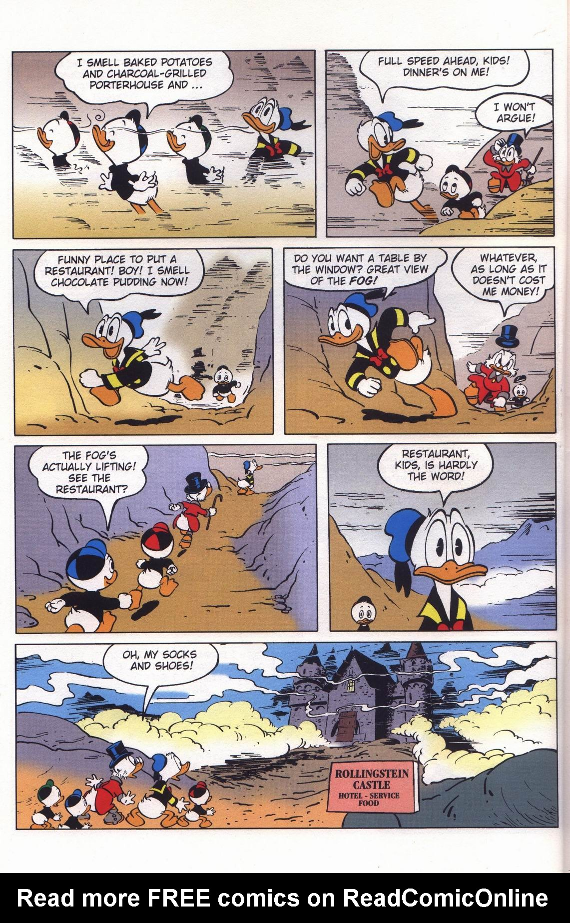 Read online Uncle Scrooge (1953) comic -  Issue #313 - 16