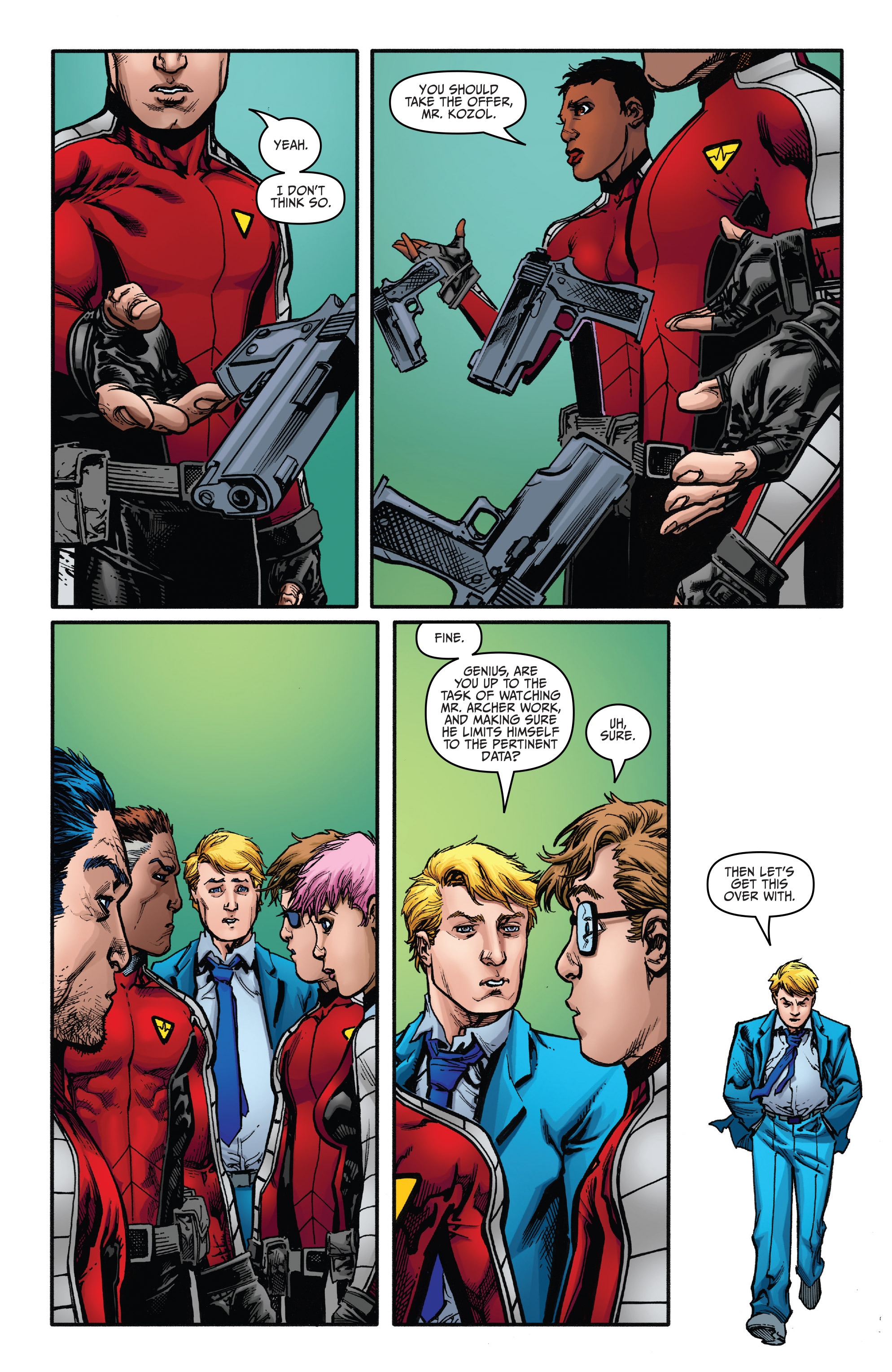 Read online Bloodshot and H.A.R.D.Corps comic -  Issue #21 - 17