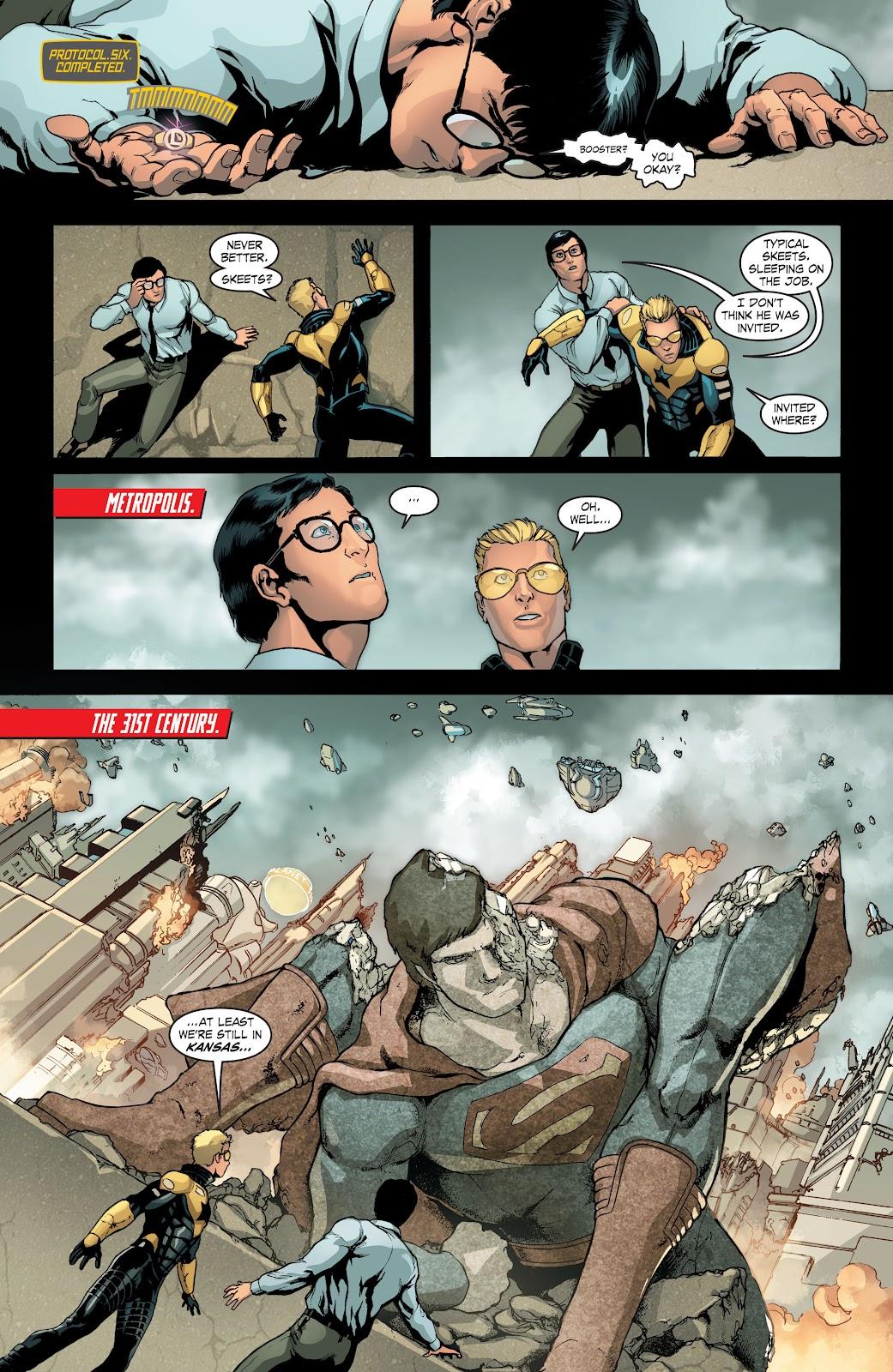 Read online Smallville Season 11 [II] comic -  Issue # TPB 4 - 16