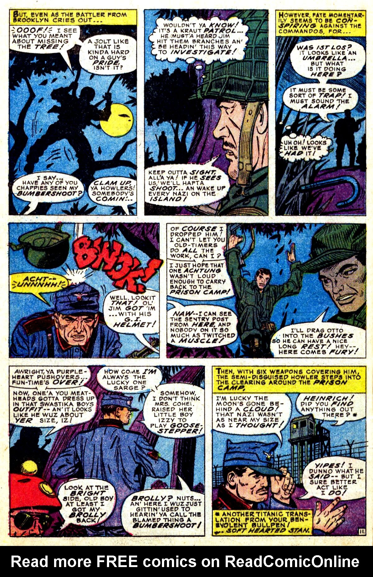 Read online Sgt. Fury comic -  Issue #38 - 16