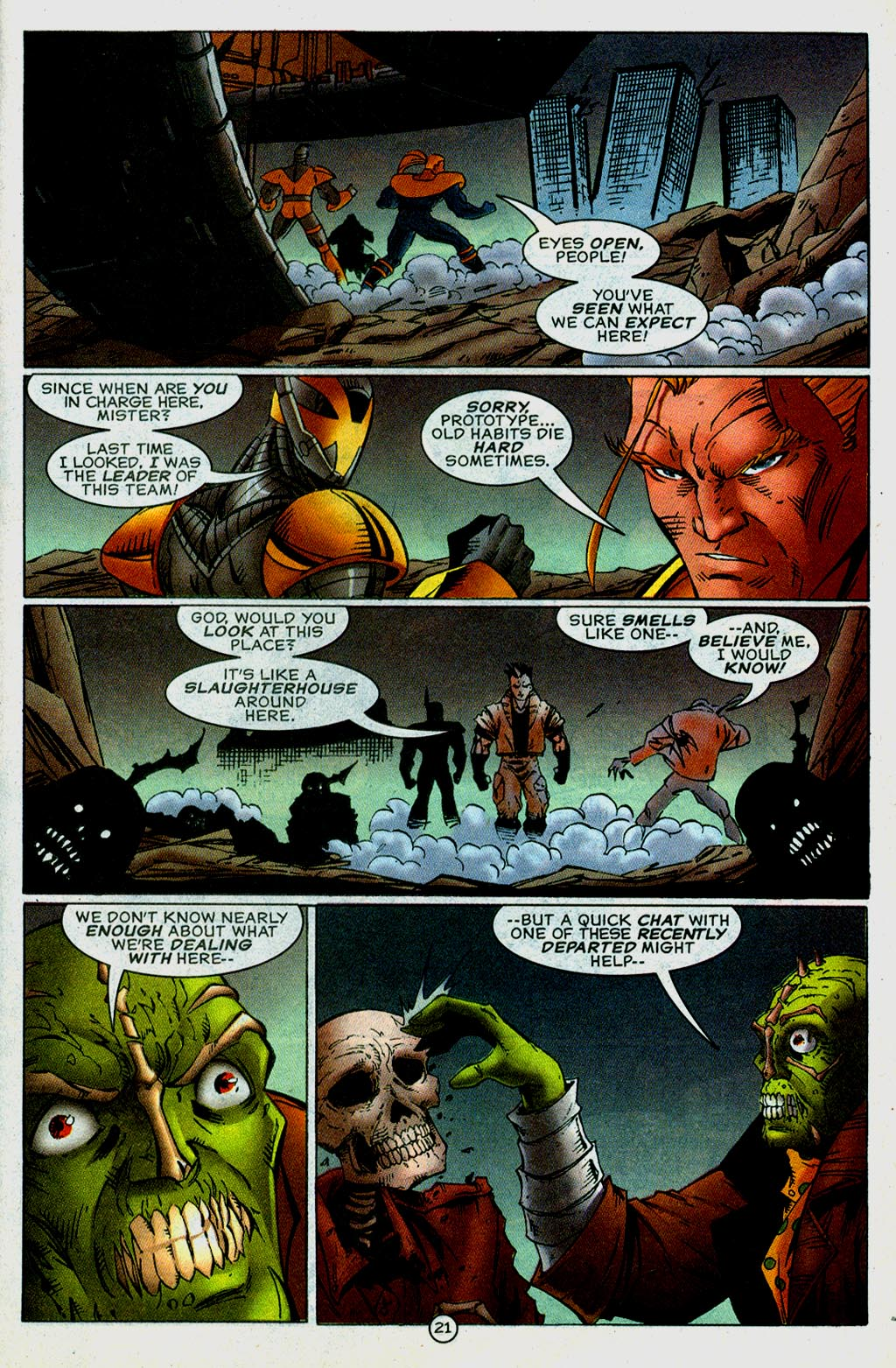 Read online UltraForce (1995) comic -  Issue #14 - 21