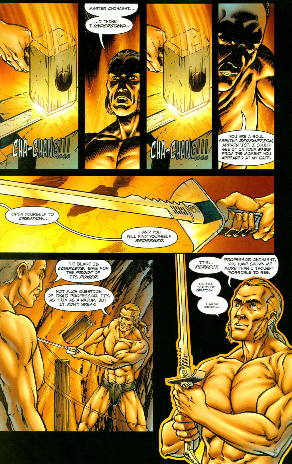 Read online Snake Eyes: Declassified comic -  Issue #4 - 18