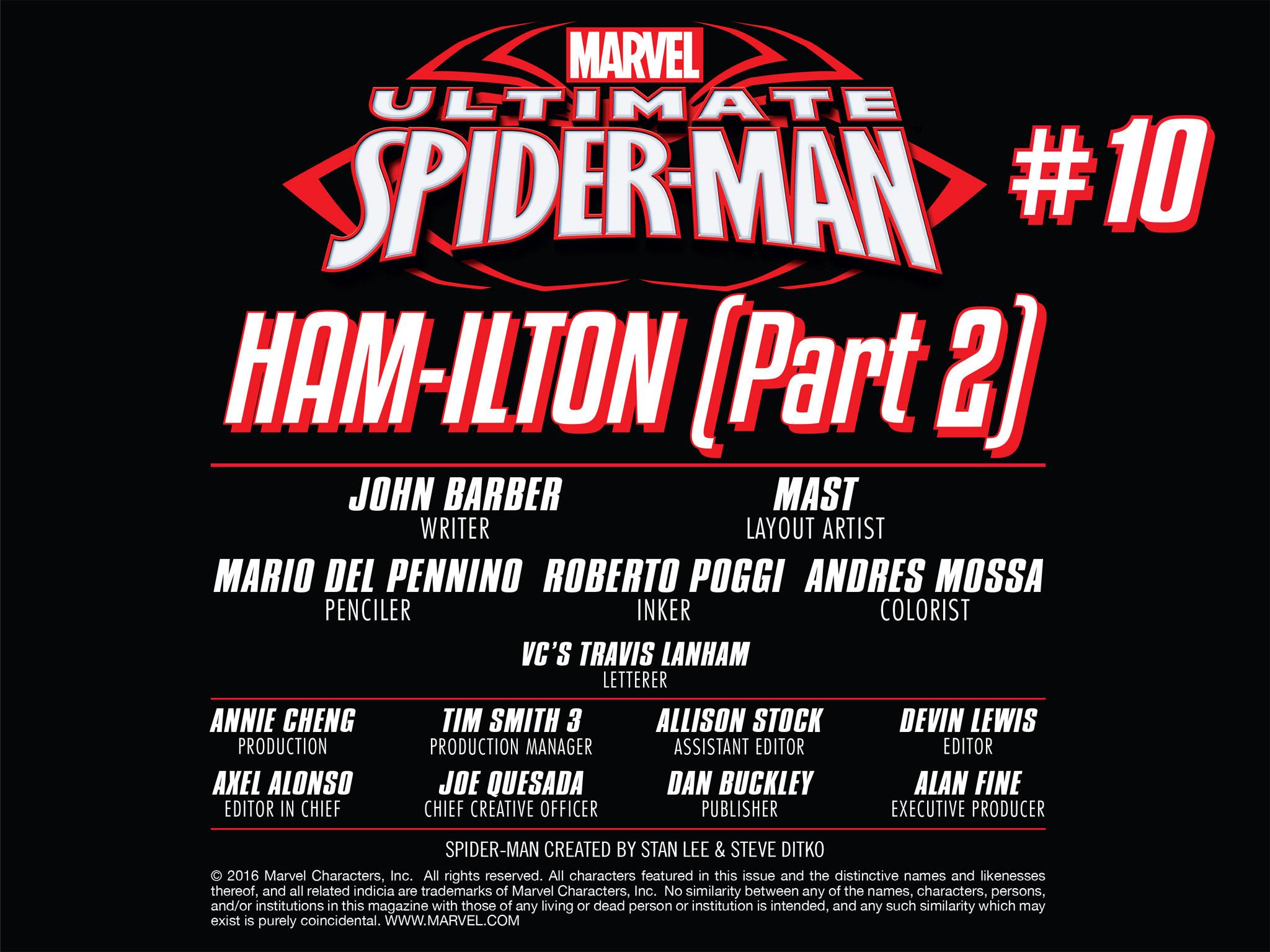 Read online Ultimate Spider-Man (Infinite Comics) (2016) comic -  Issue #10 - 14