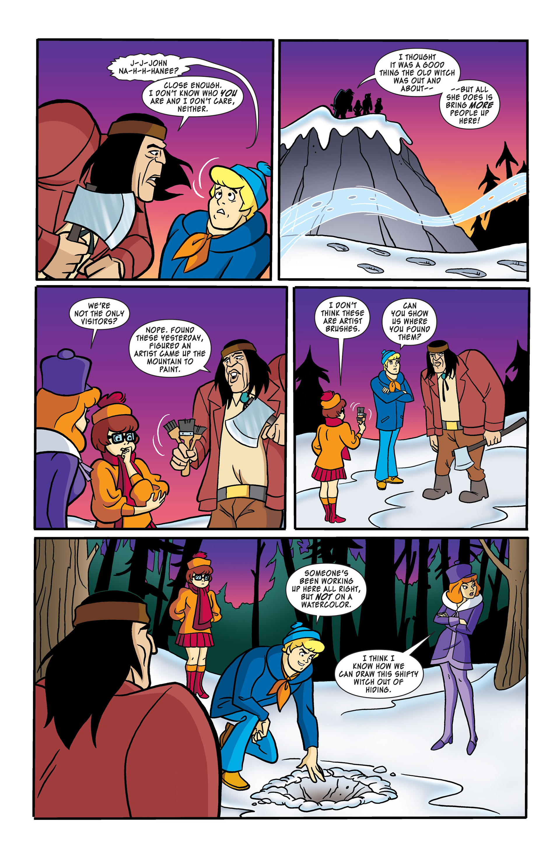 Read online Scooby-Doo: Where Are You? comic -  Issue #50 - 8