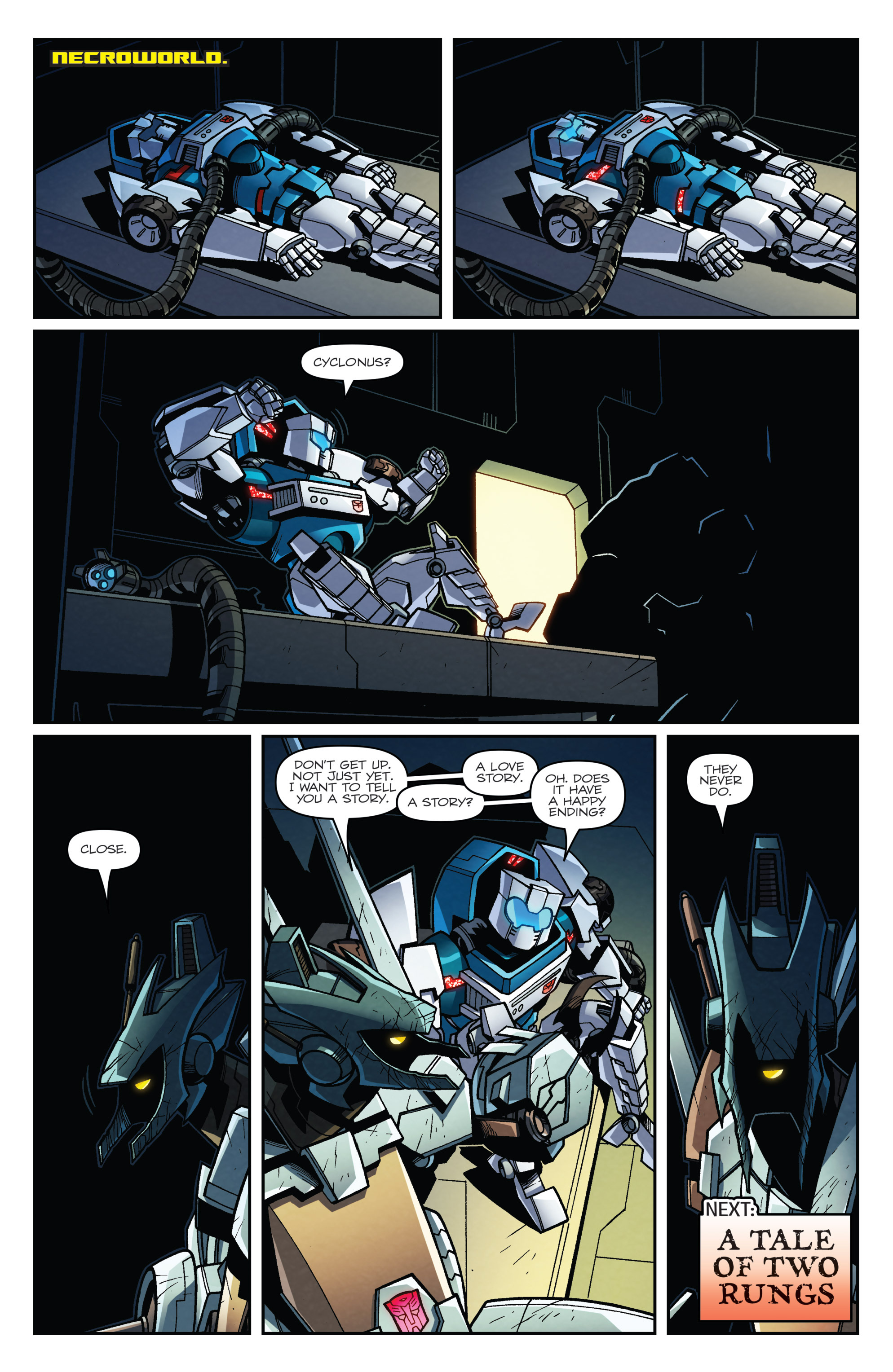 Read online Transformers: Lost Light comic -  Issue #4 - 22