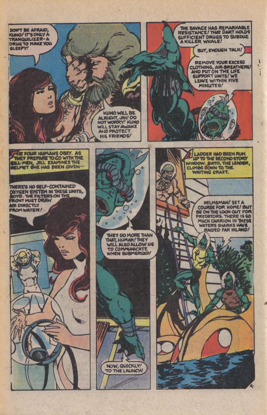 Read online Doomsday   1 (1975) comic -  Issue #10 - 12