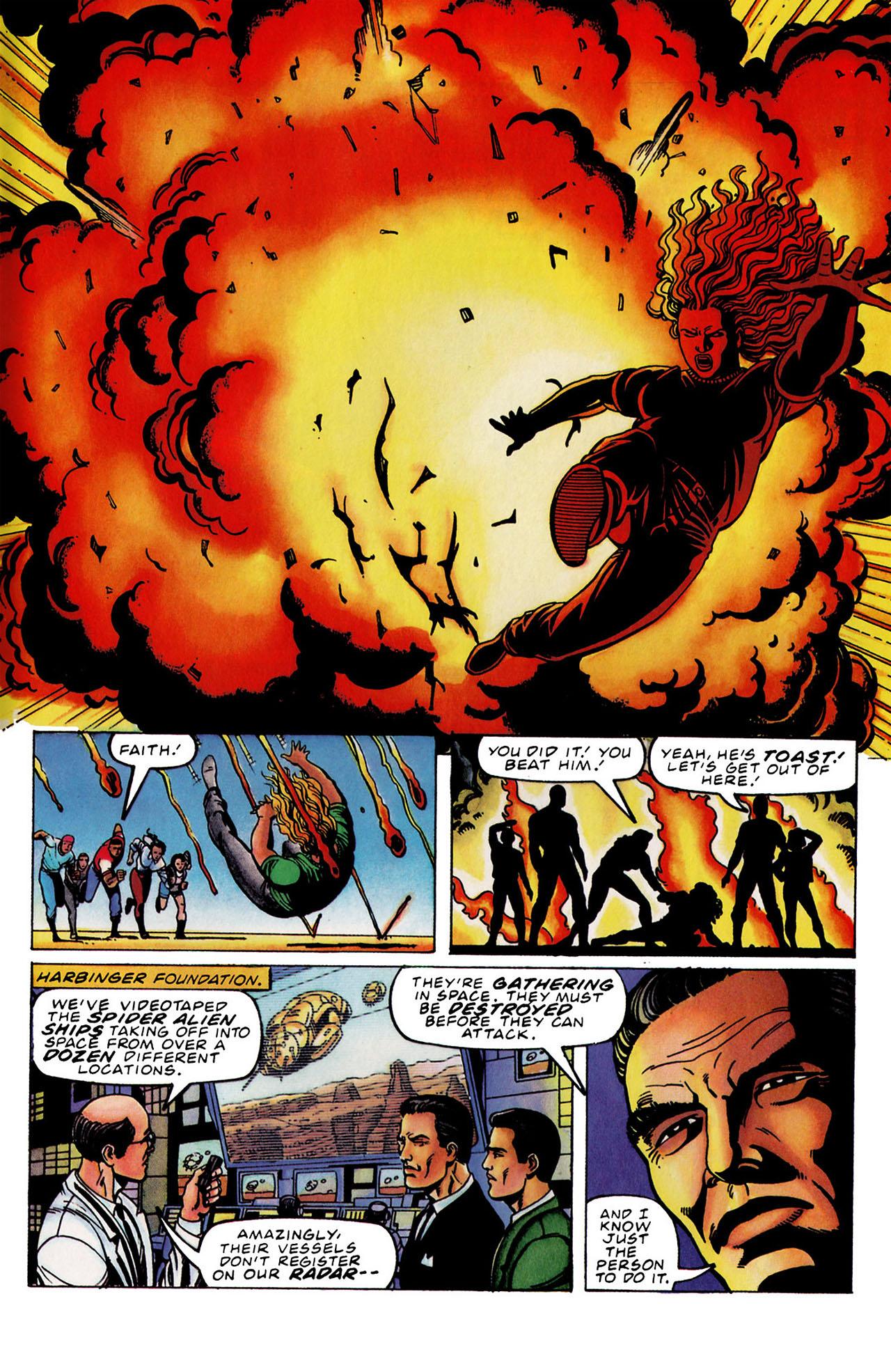Read online Harbinger (1992) comic -  Issue #33 - 18
